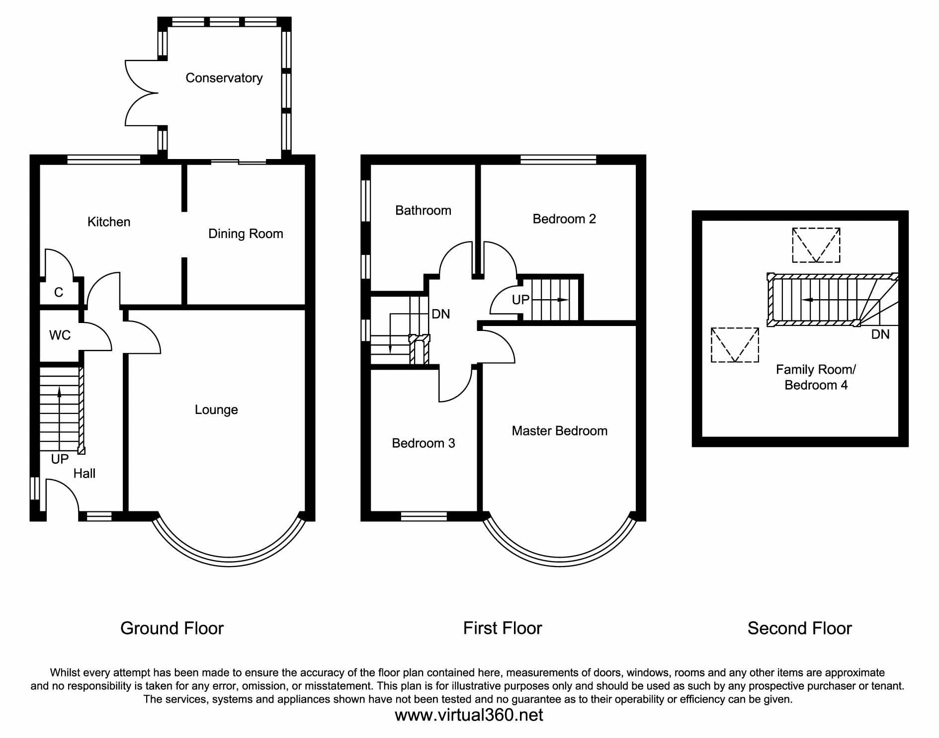 Lulworth Crescent, Crossgates, Whitkirk, Leeds floor plan
