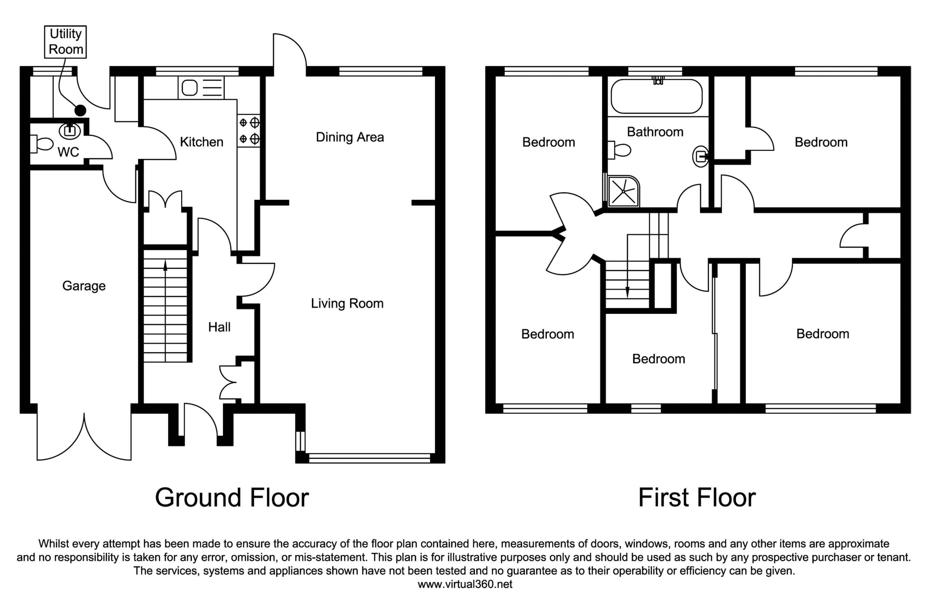 Ivanhoe, Whitley Bay floor plan