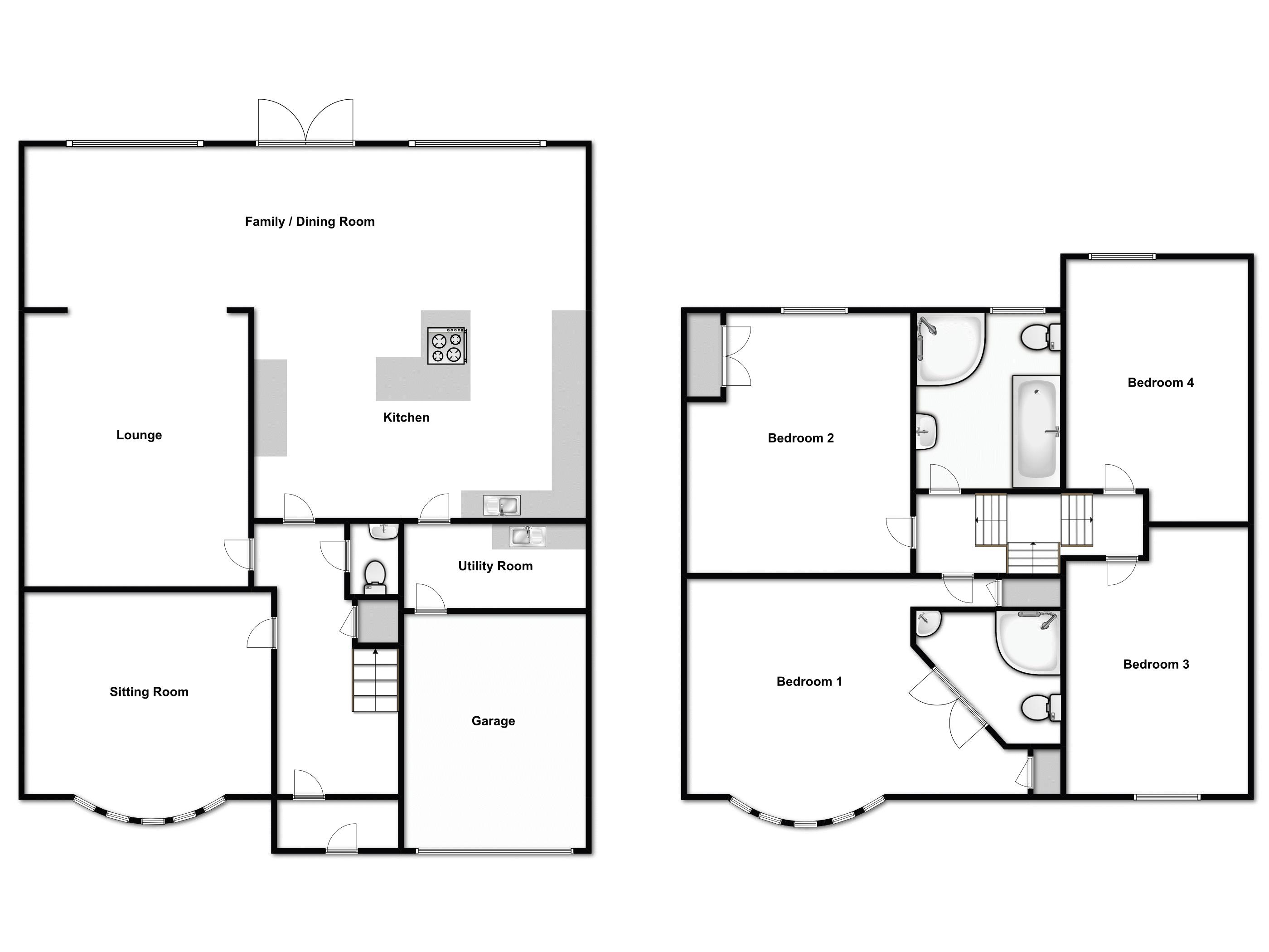 Fairholme Avenue, Gidea Park floor plan