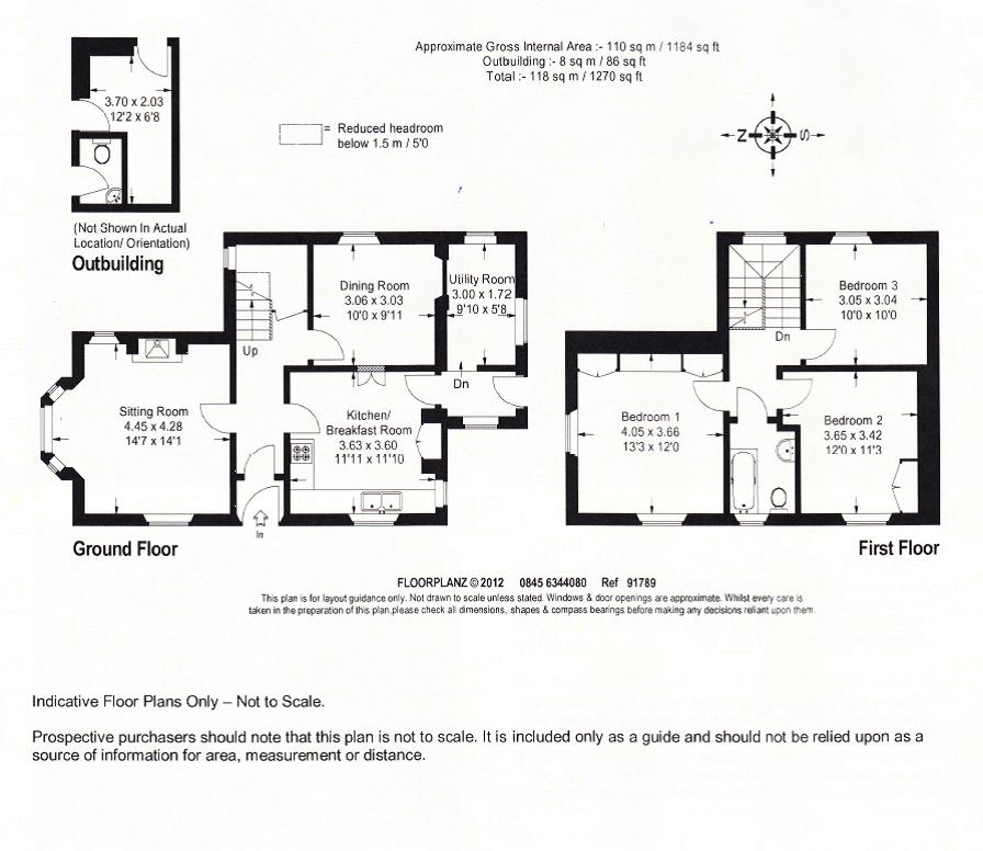 Main Road, Tallington floor plan