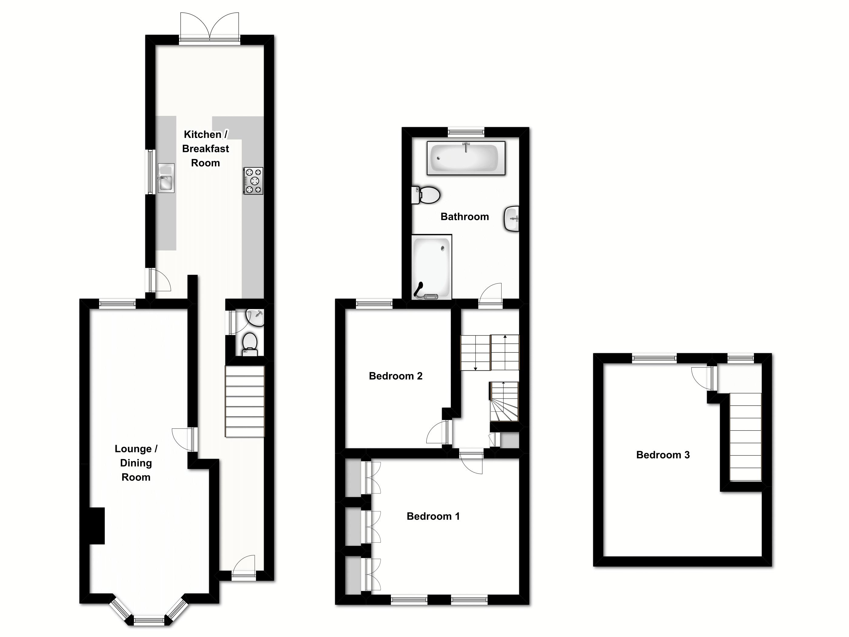 Smeaton Road, Woodford Green floor plan