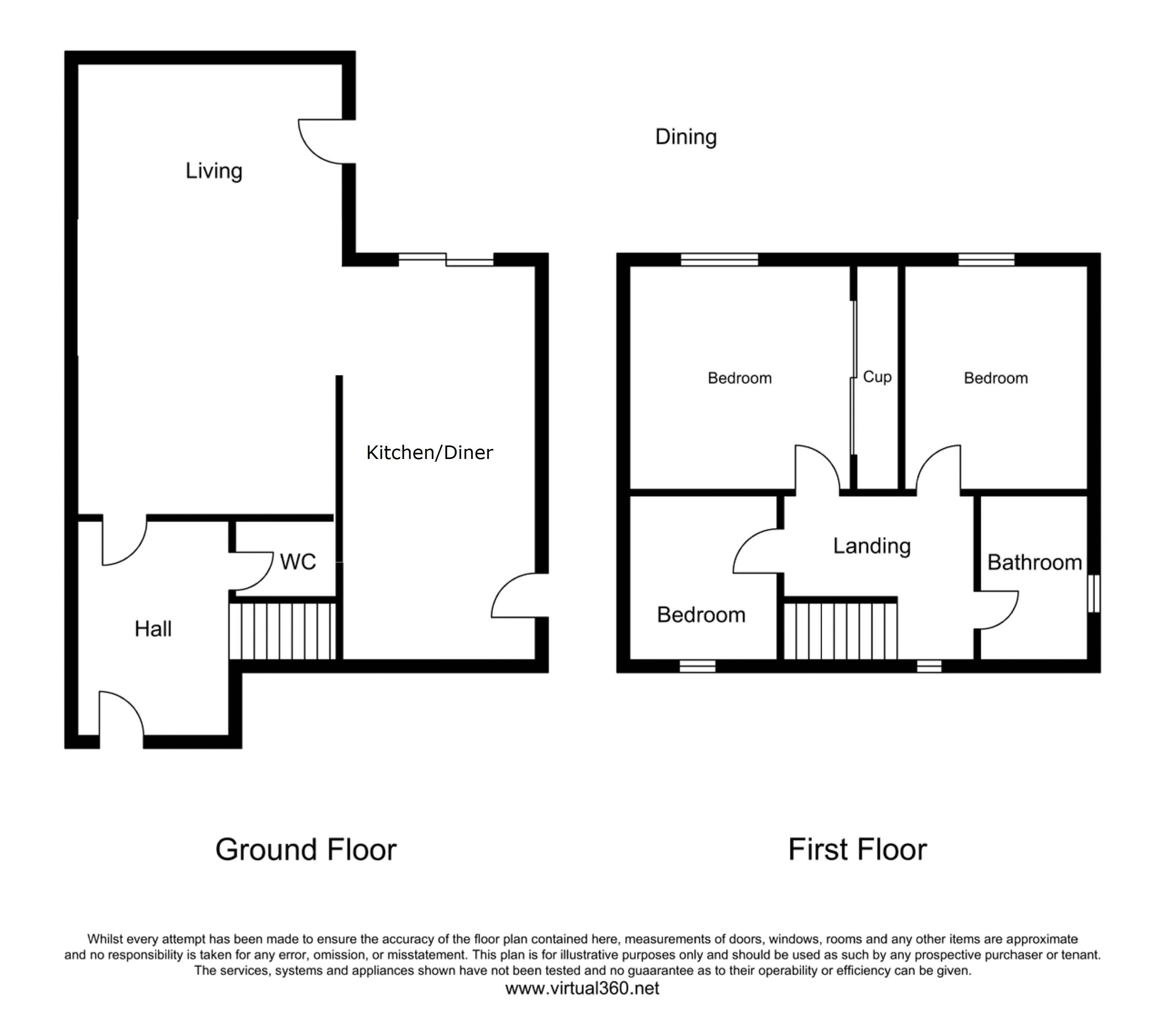 Morrells, Basildon, Essex floor plan