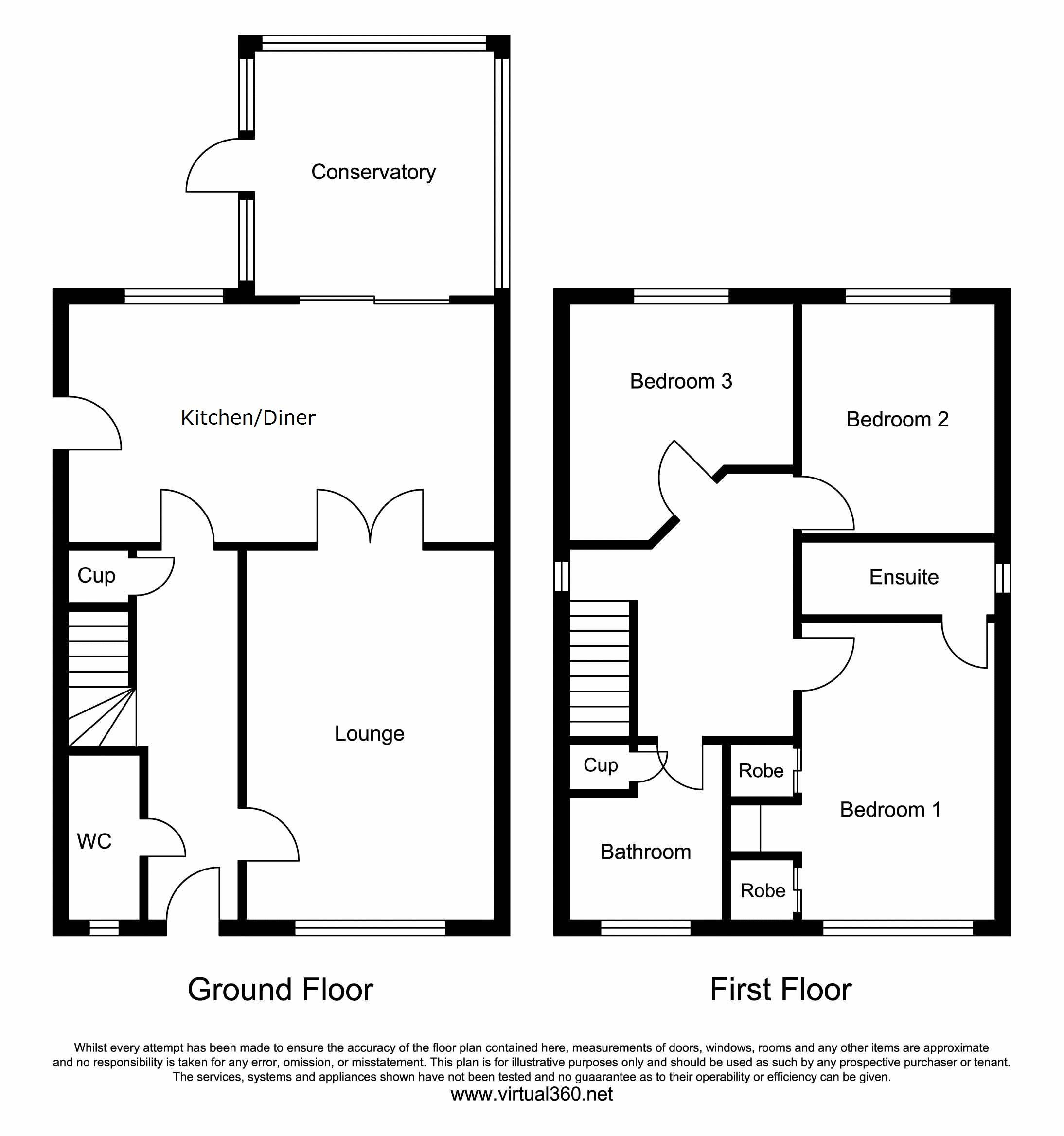 Lodge Wood Close, Chorley floor plan