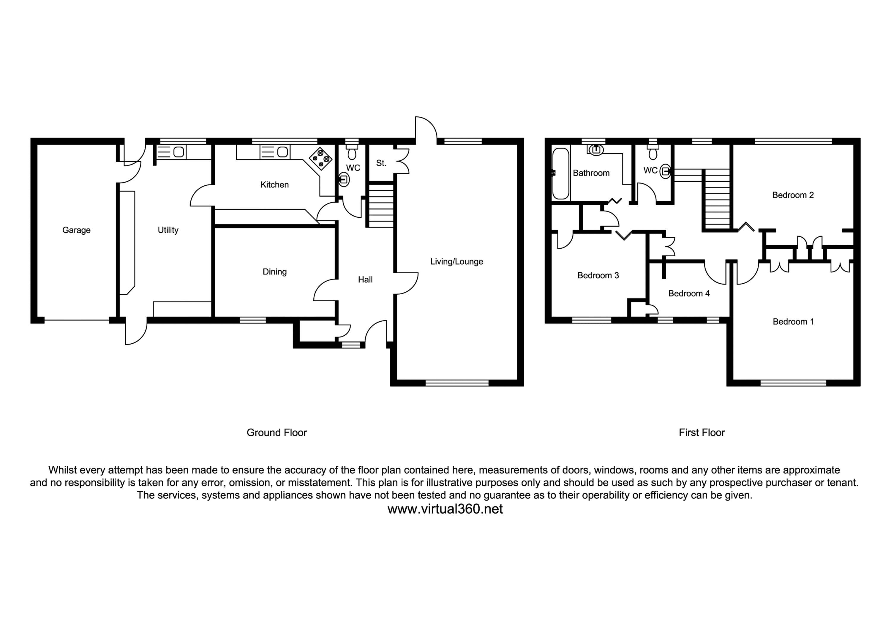 Skinners Lane, Ashtead floor plan