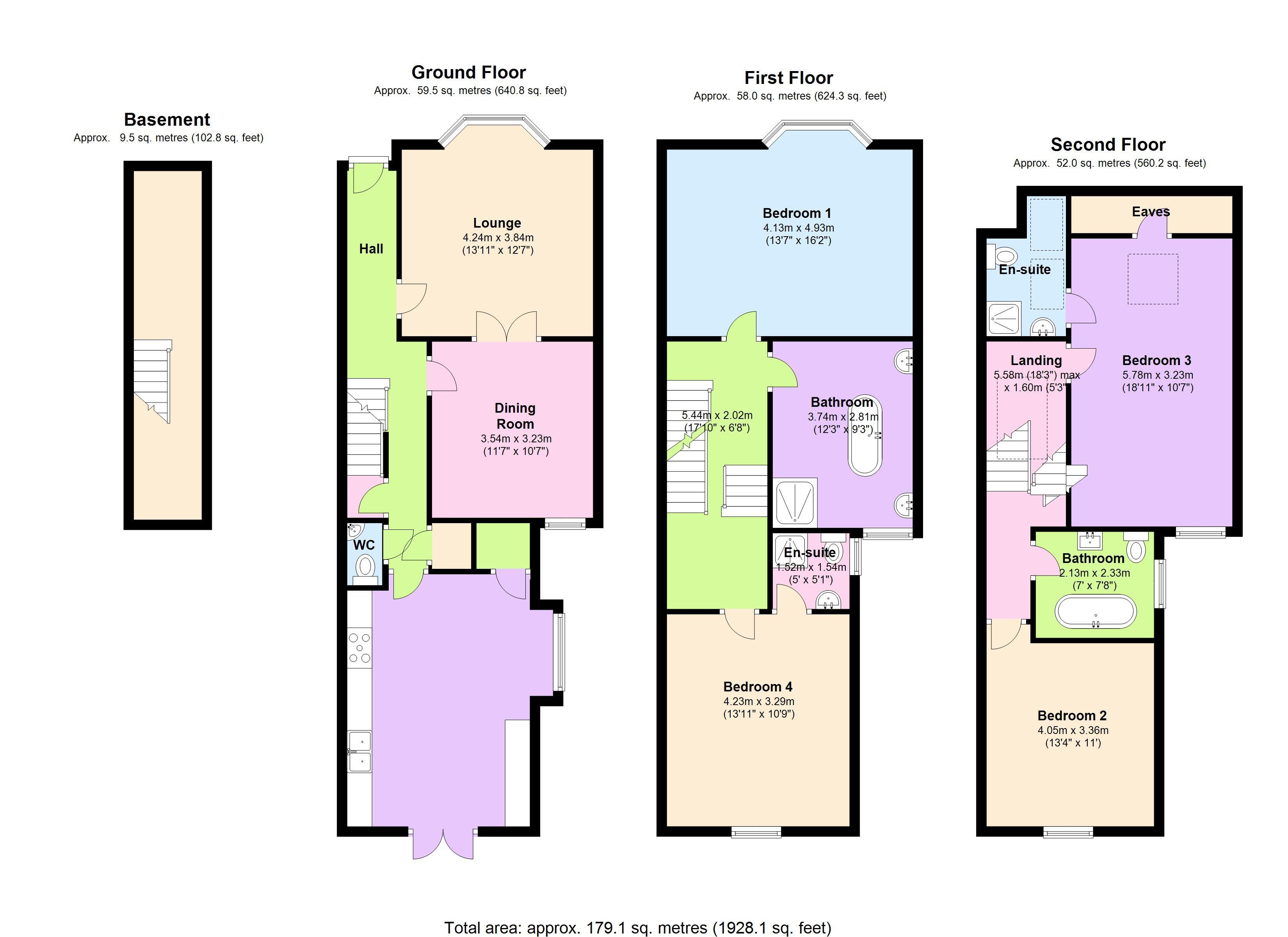 Highbury Park, London, N5 floor plan