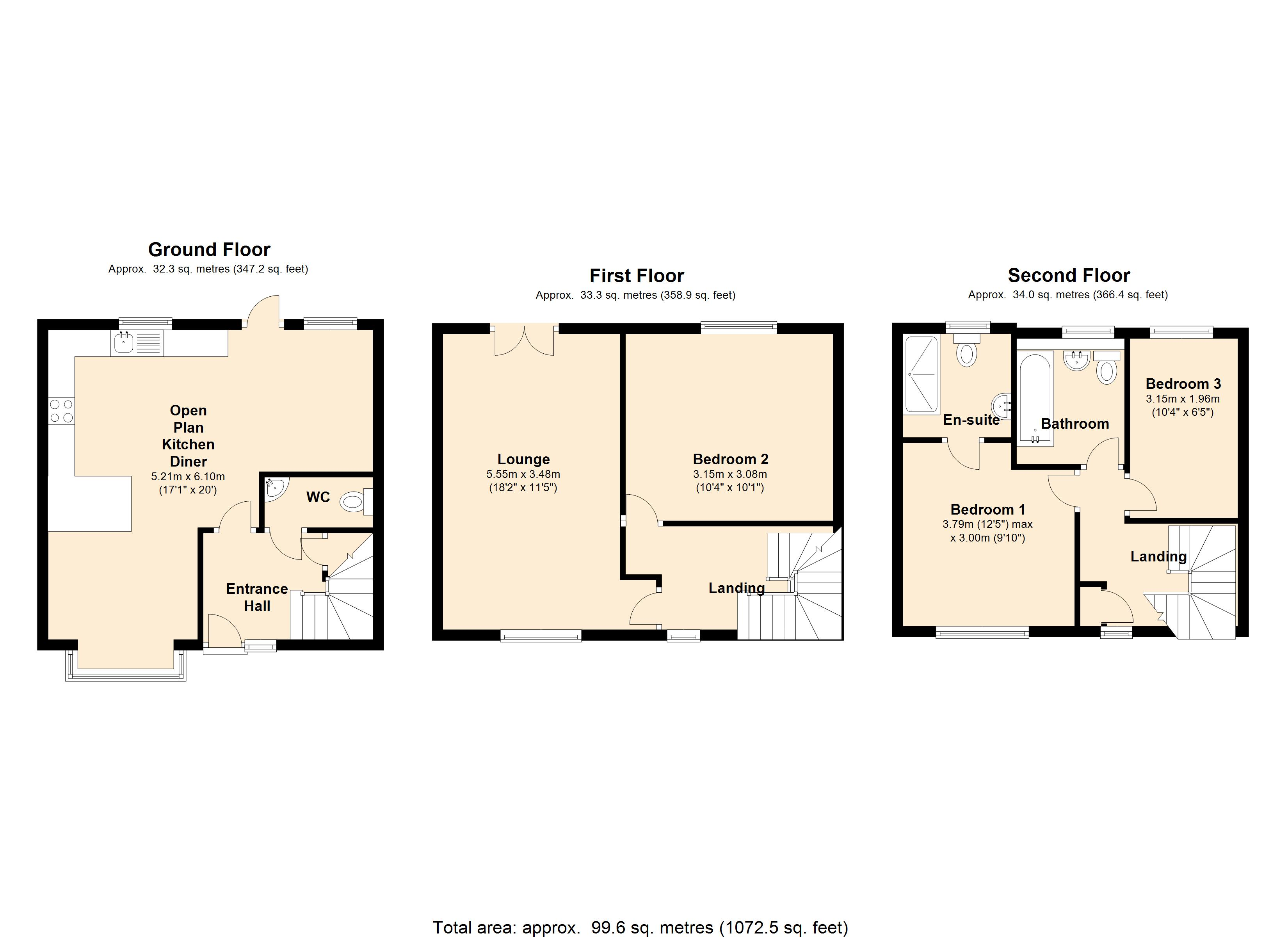 Brook Street, Colchester, CO1 floor plan