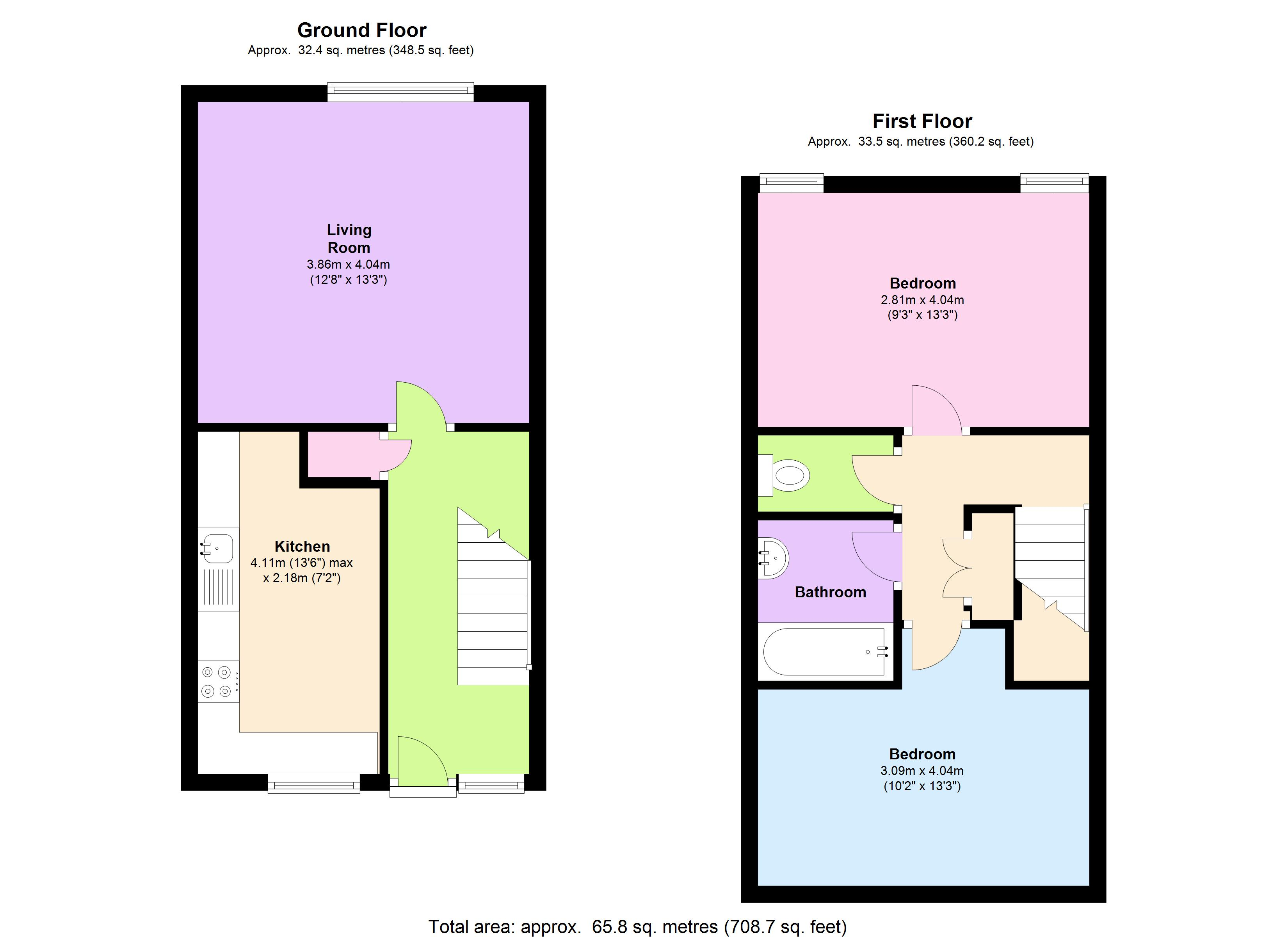 Claremont Street, Plymouth, PL1 floor plan