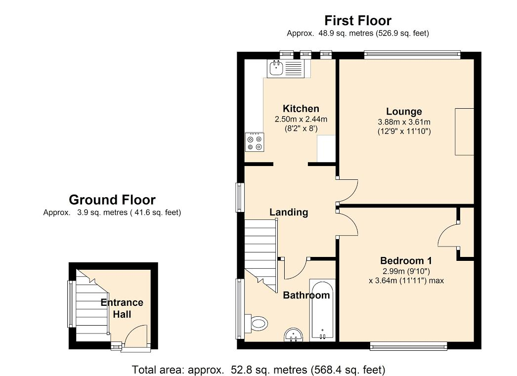 Langham Crescent, Billericay, CM12 floor plan