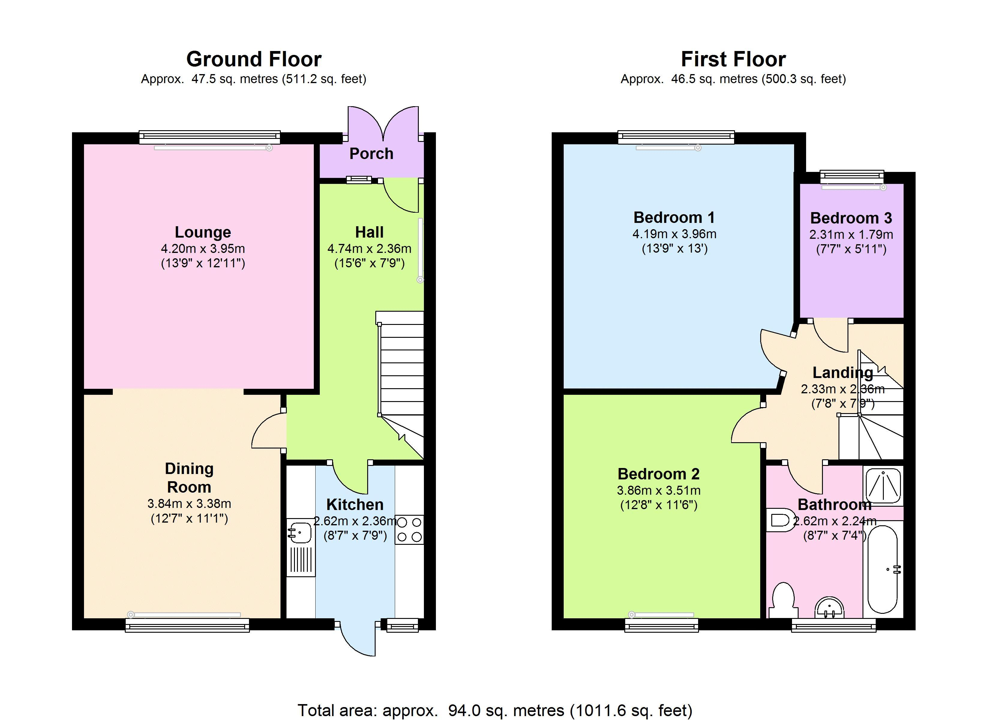 Selworthy Road, London, SE6 floor plan