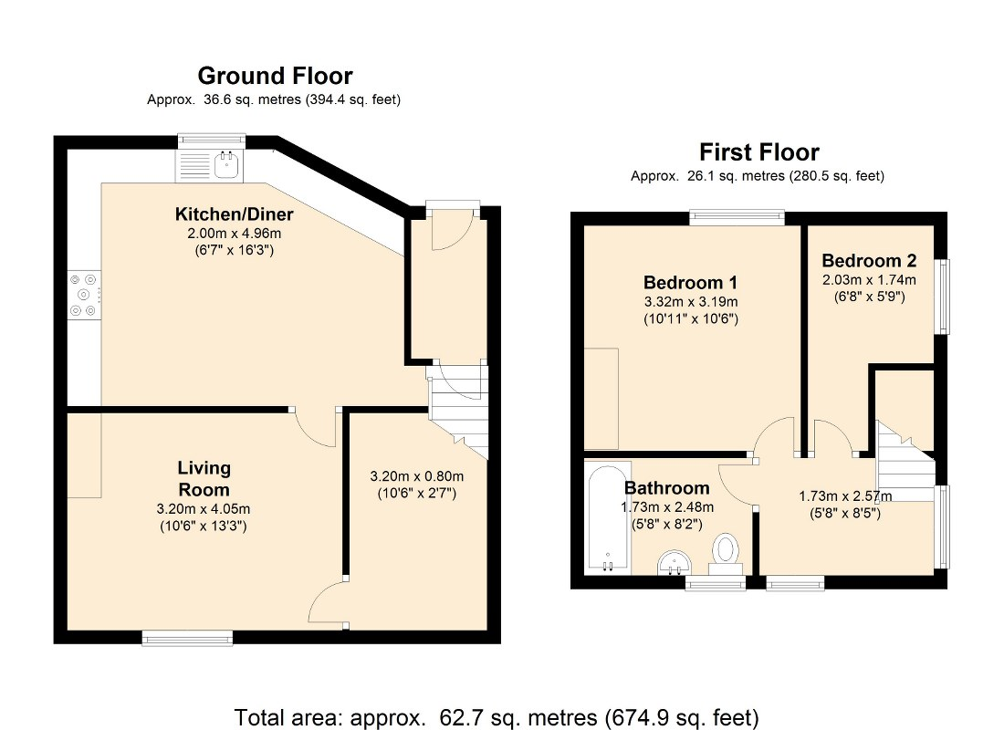 Knowles Hill Road, Dewsbury, WF13 floor plan