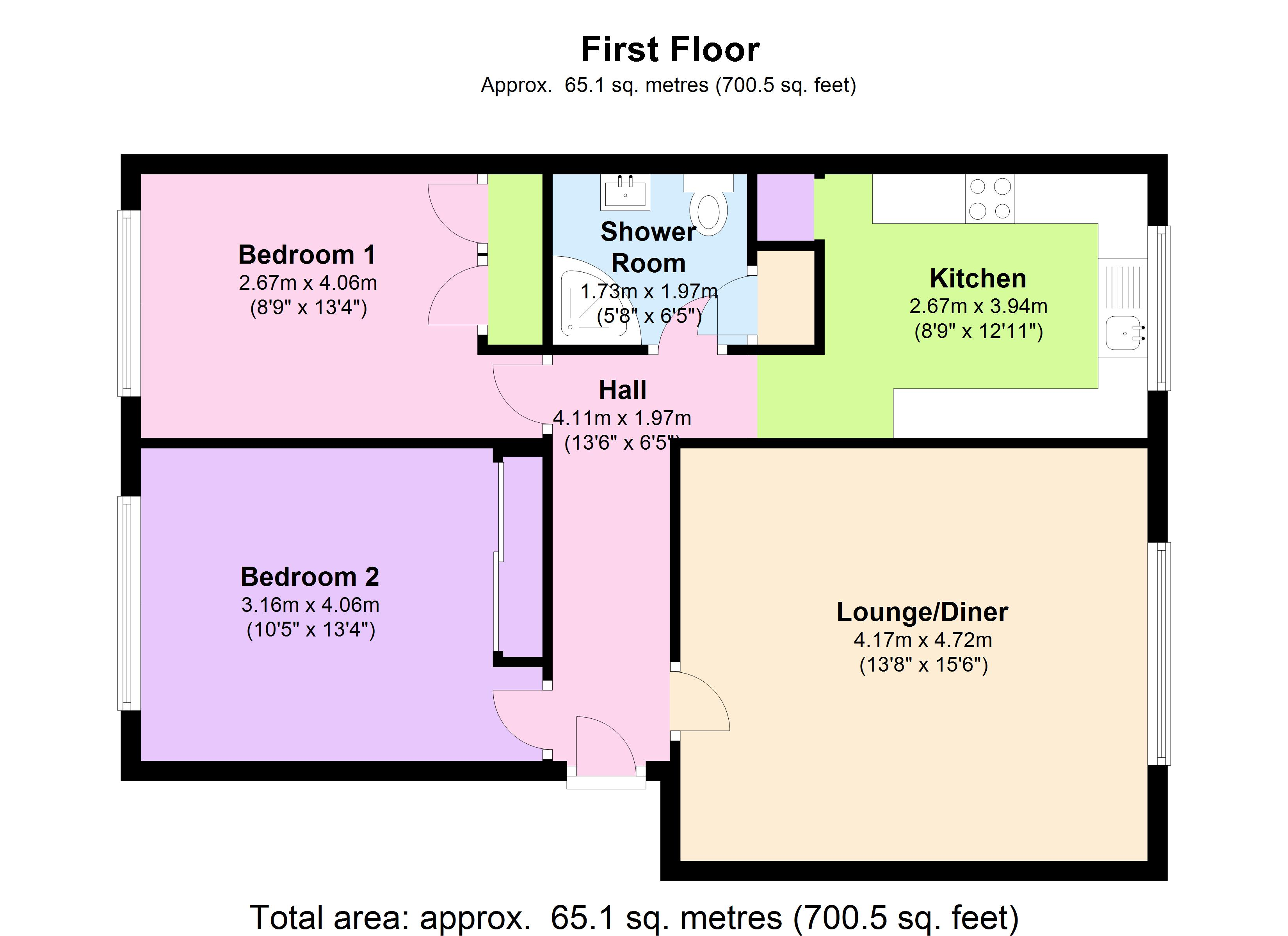 Long Acre Court, Argyle Road,London, W13 floor plan