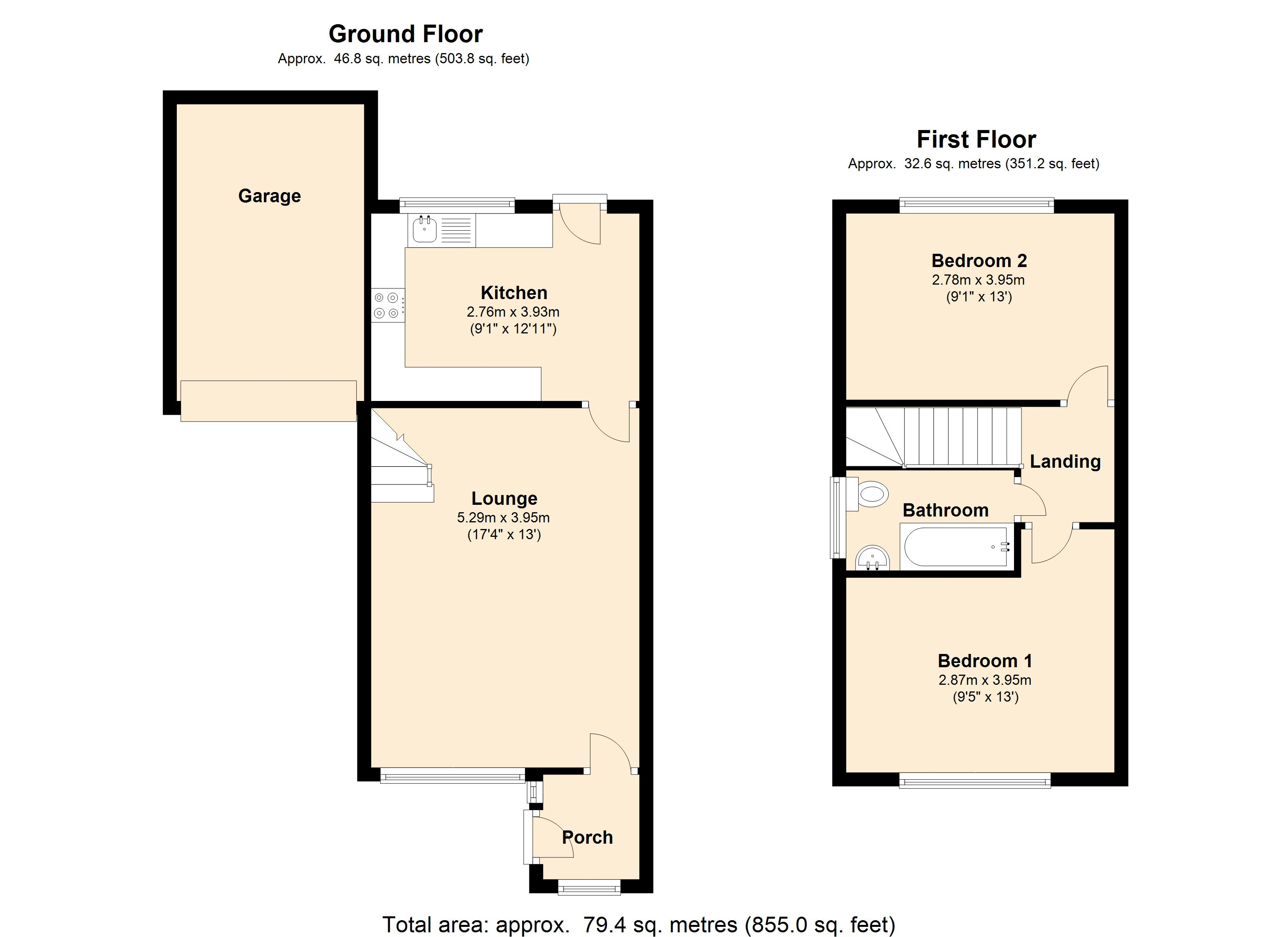 Scarletts Close,Witham, CM8 floor plan