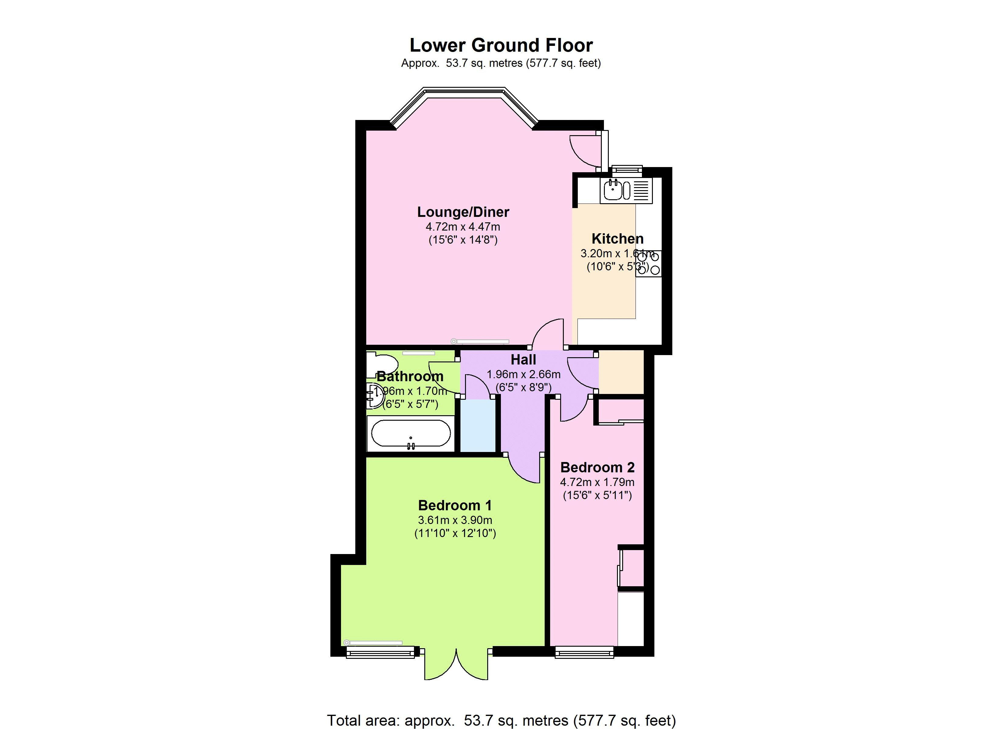 Clapham Old Town, London, SW4 floor plan