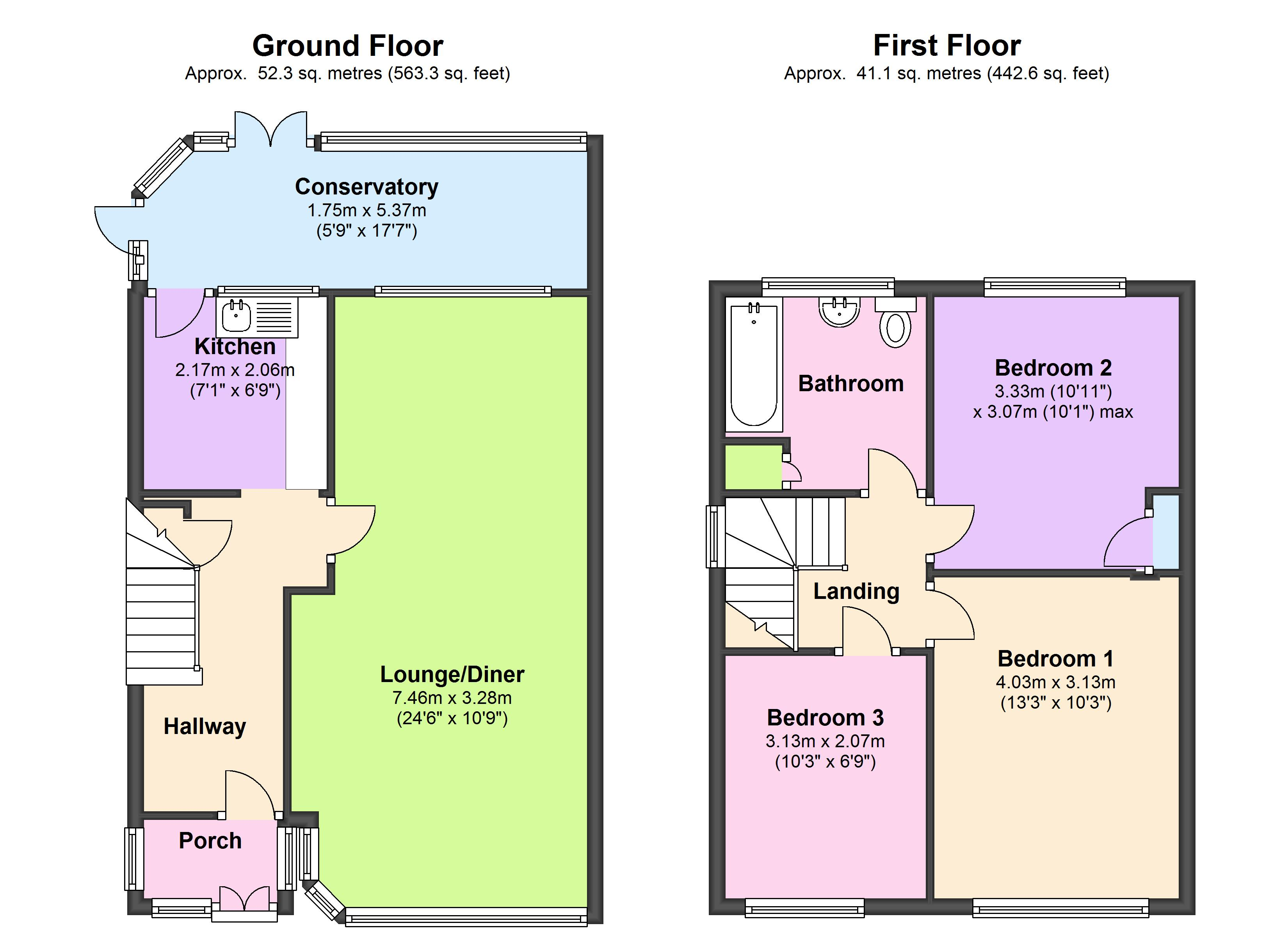 Carter Drive, Romford floor plan