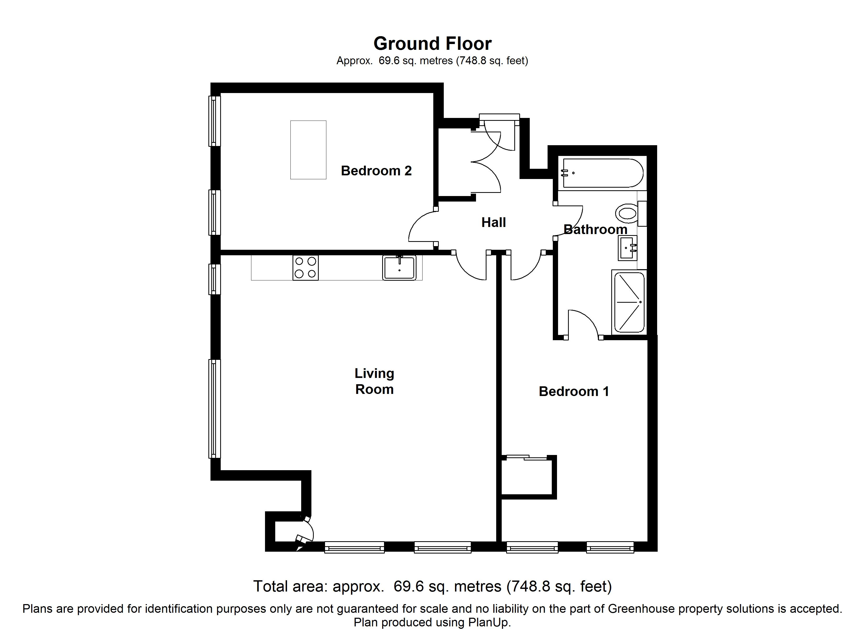 Centrillion Point, Central Croydon, CR0 floor plan