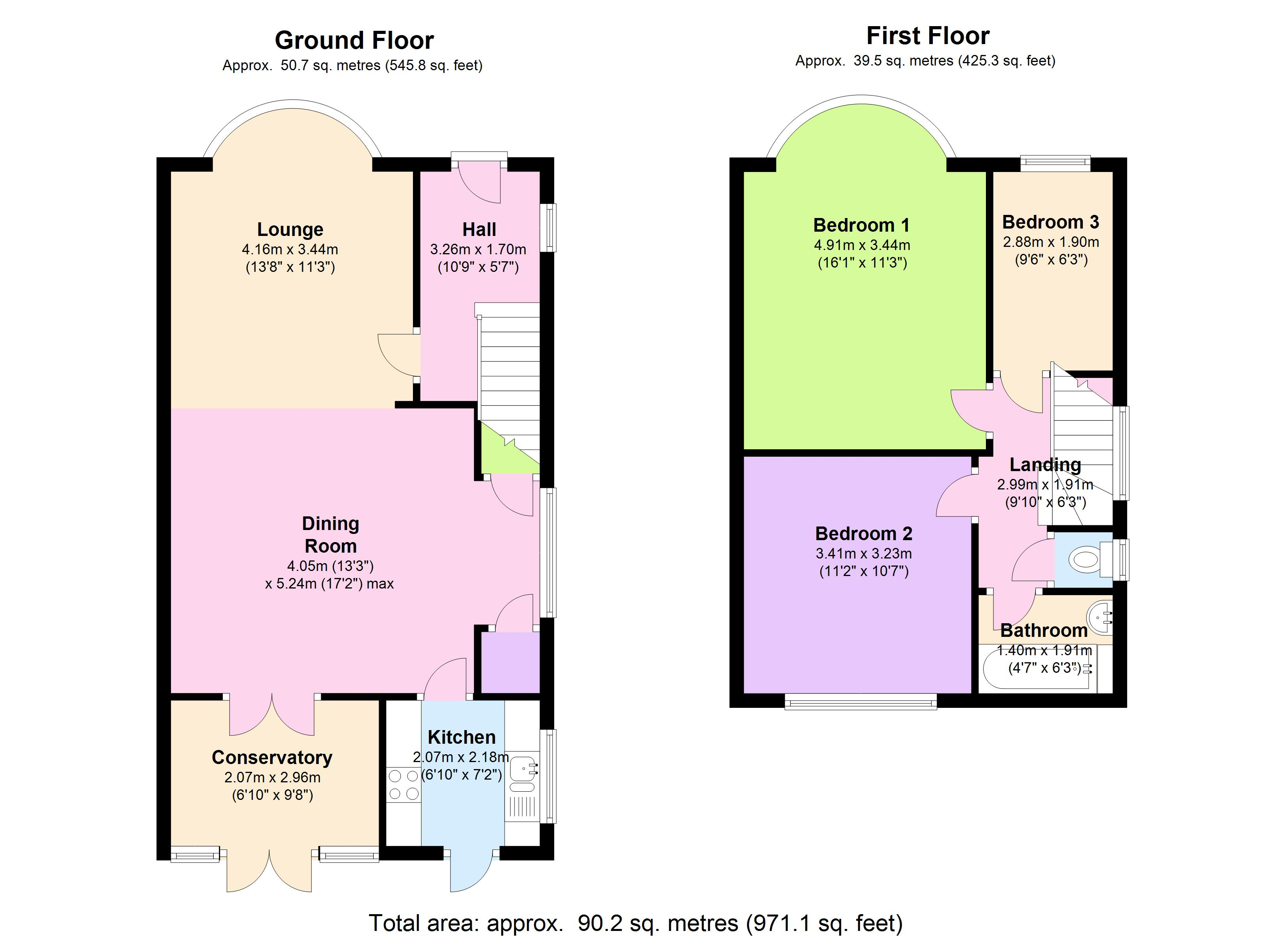 13 Foresters Drive, London, E17 3PG floor plan