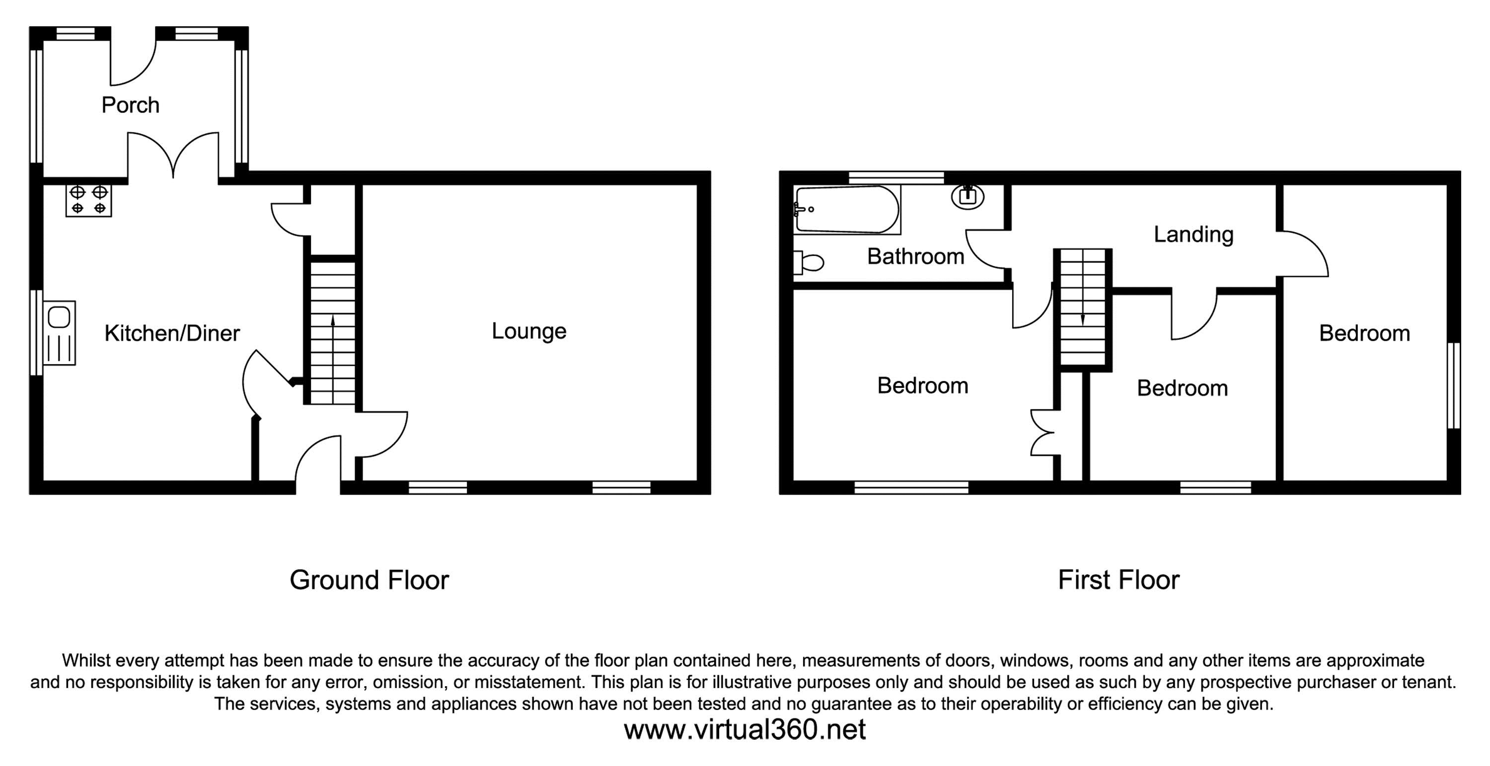 Moorside Road, Bradford floor plan