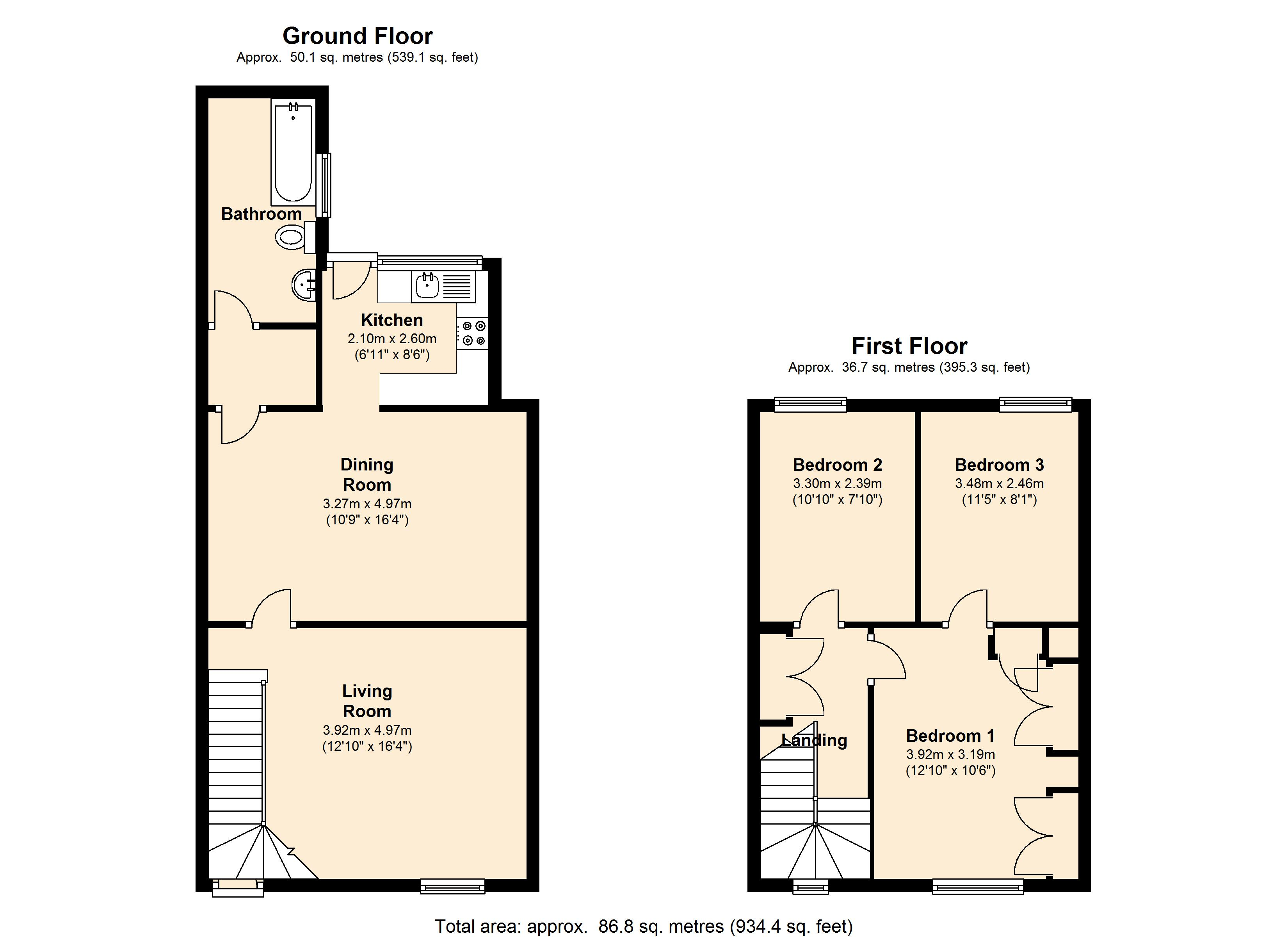 Fitzwilliam St, Hoyland S74 floor plan