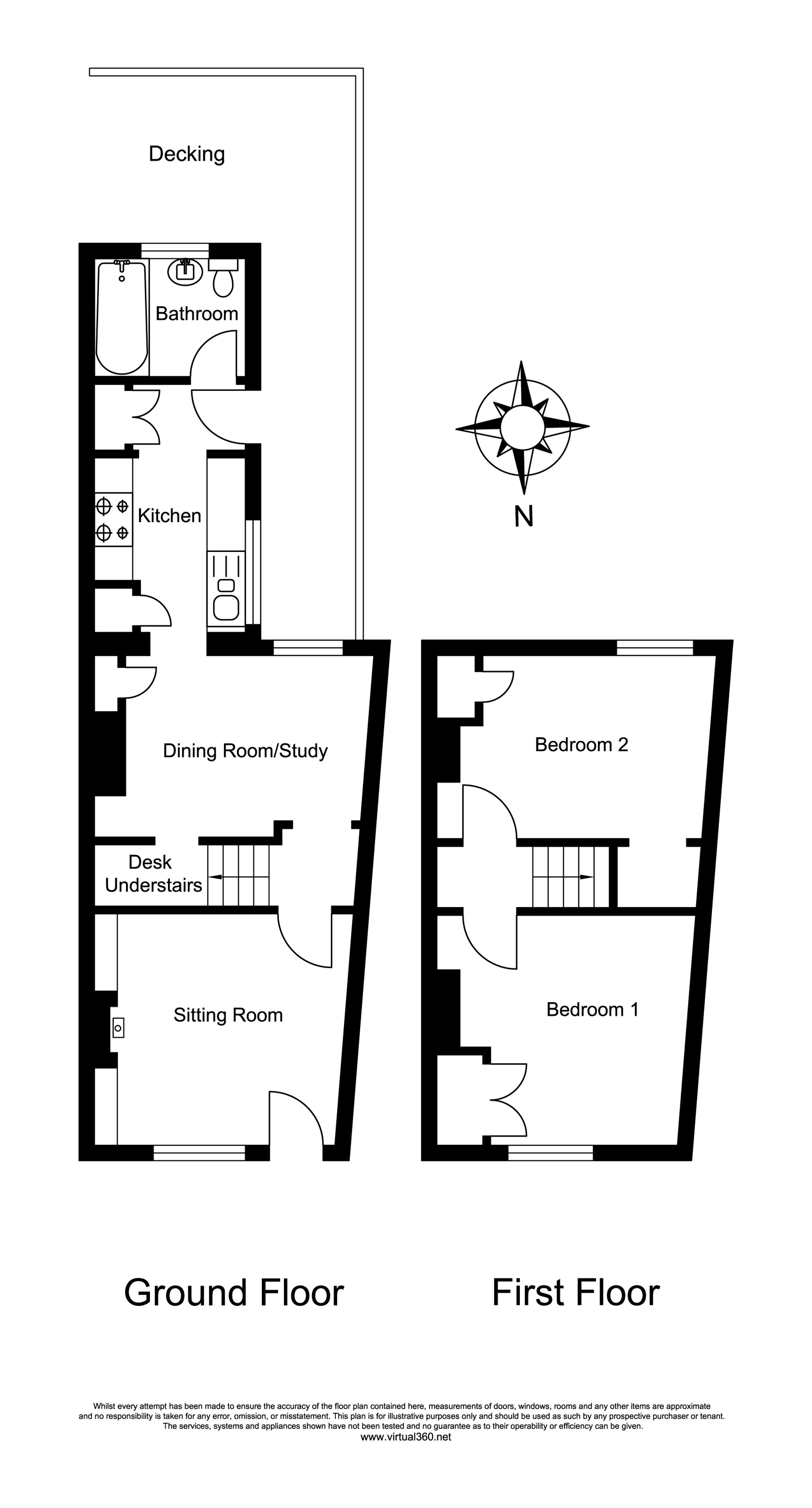 Old Woking, Woking floor plan