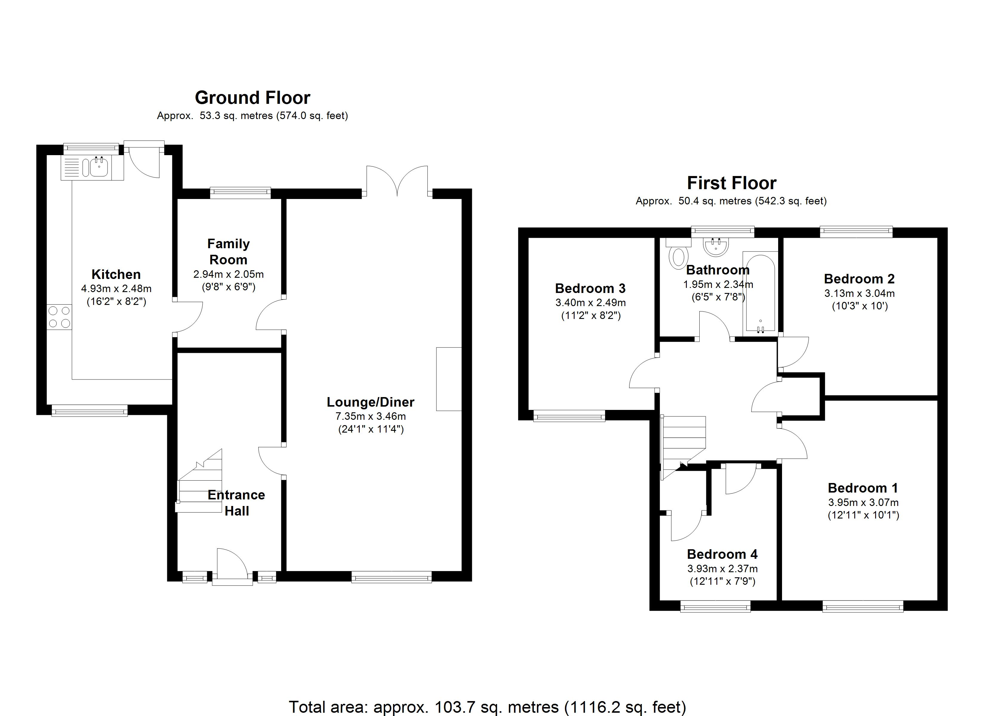 Adelaide Road,Doncaster, DN6 floor plan