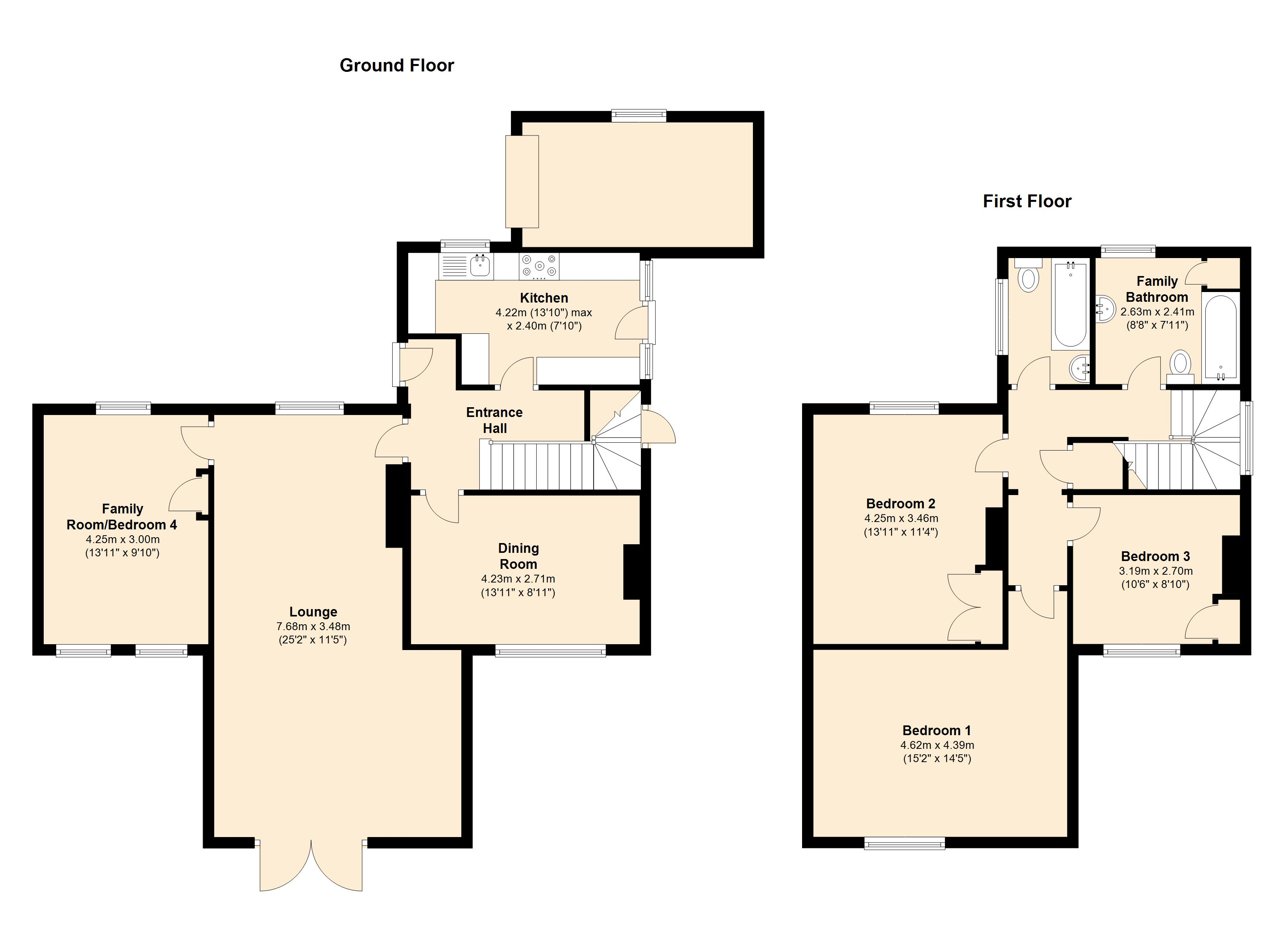 Bilton Road, Rugby, CV22 7DS floor plan