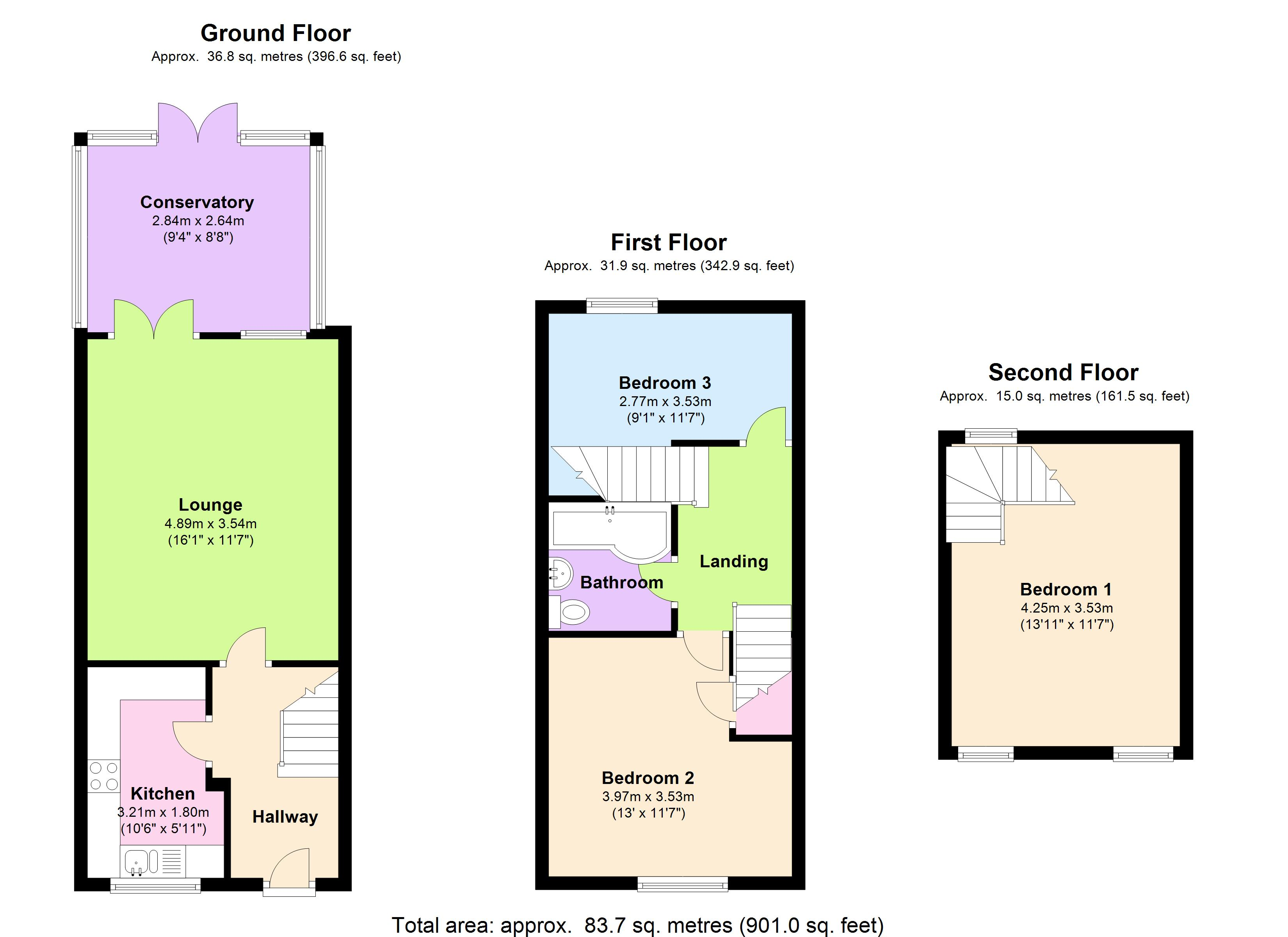 Constance Close, Broomfield, Essex, CM1 floor plan