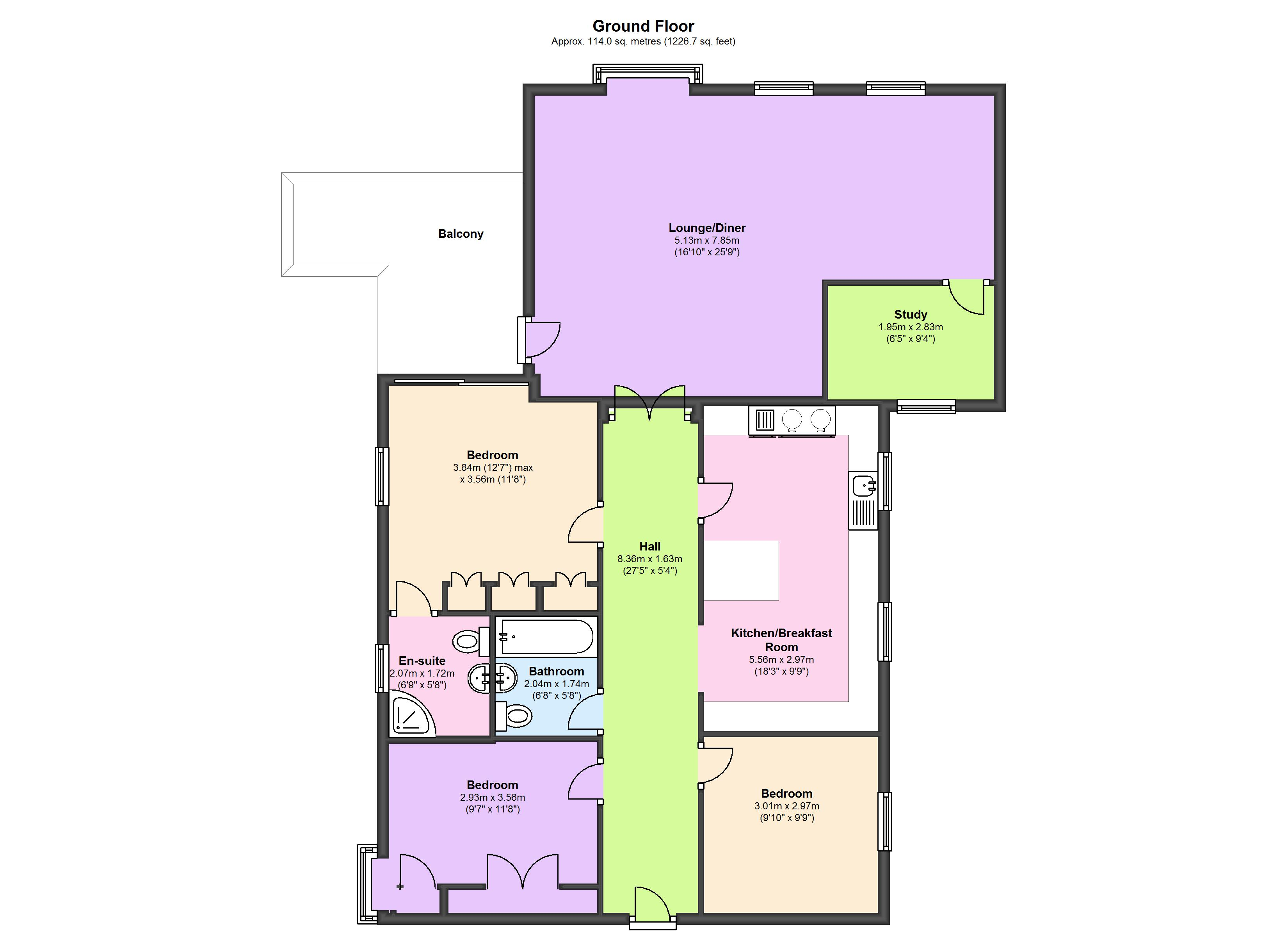 Kings Loade, Bridgnorth, Shropshire, WV16 floor plan