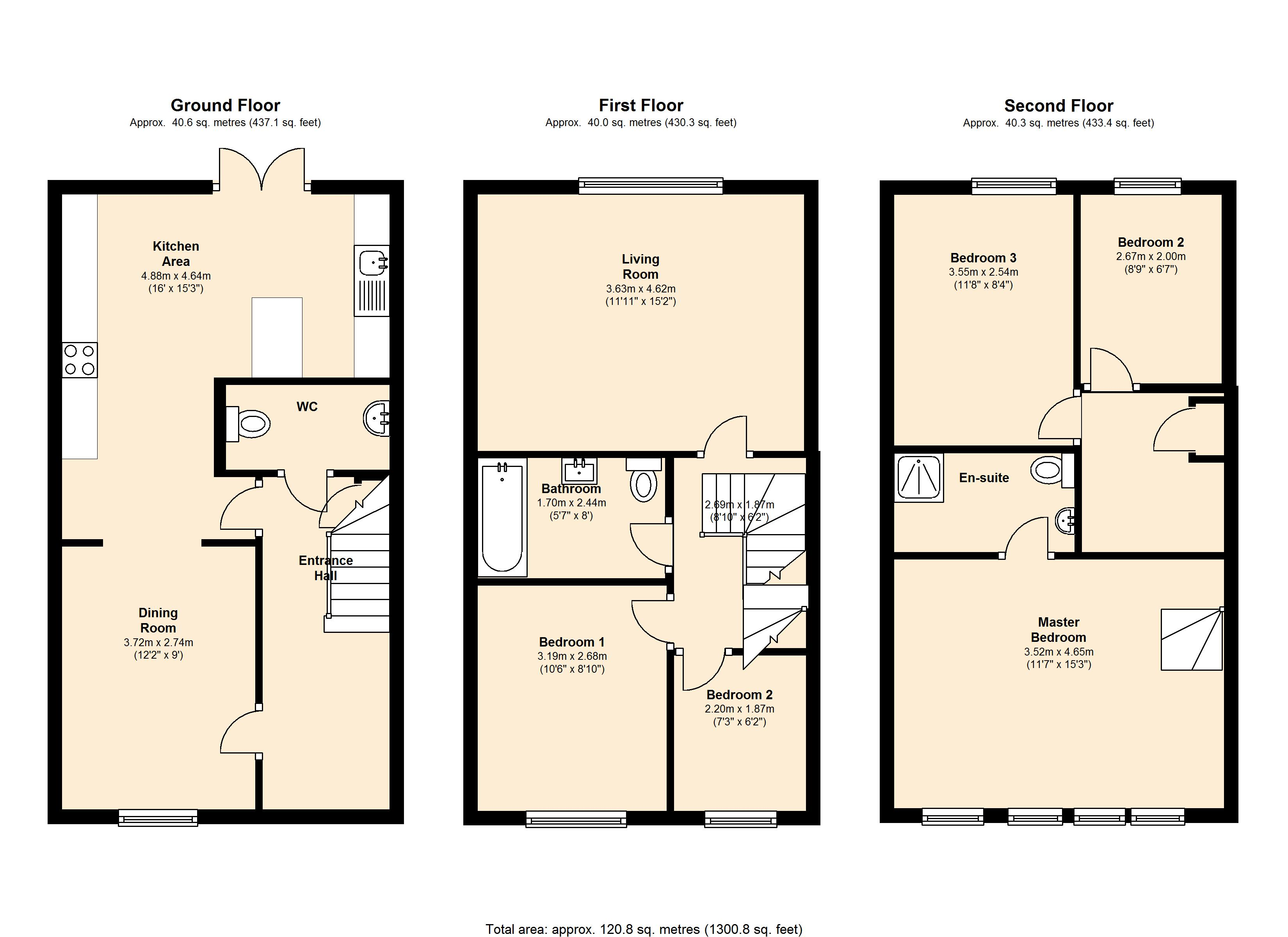 Madison Walk,Pontefract,  WF7 floor plan