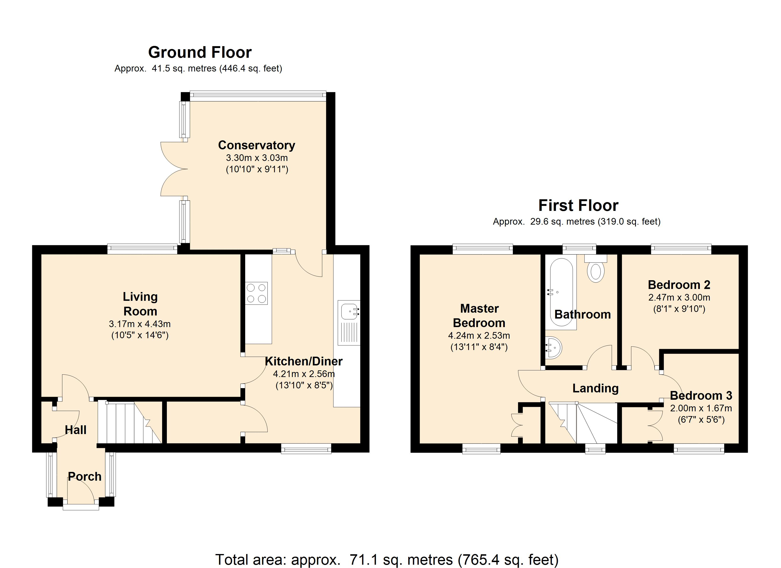 Amorys Holt Way, Maltby S66 floor plan
