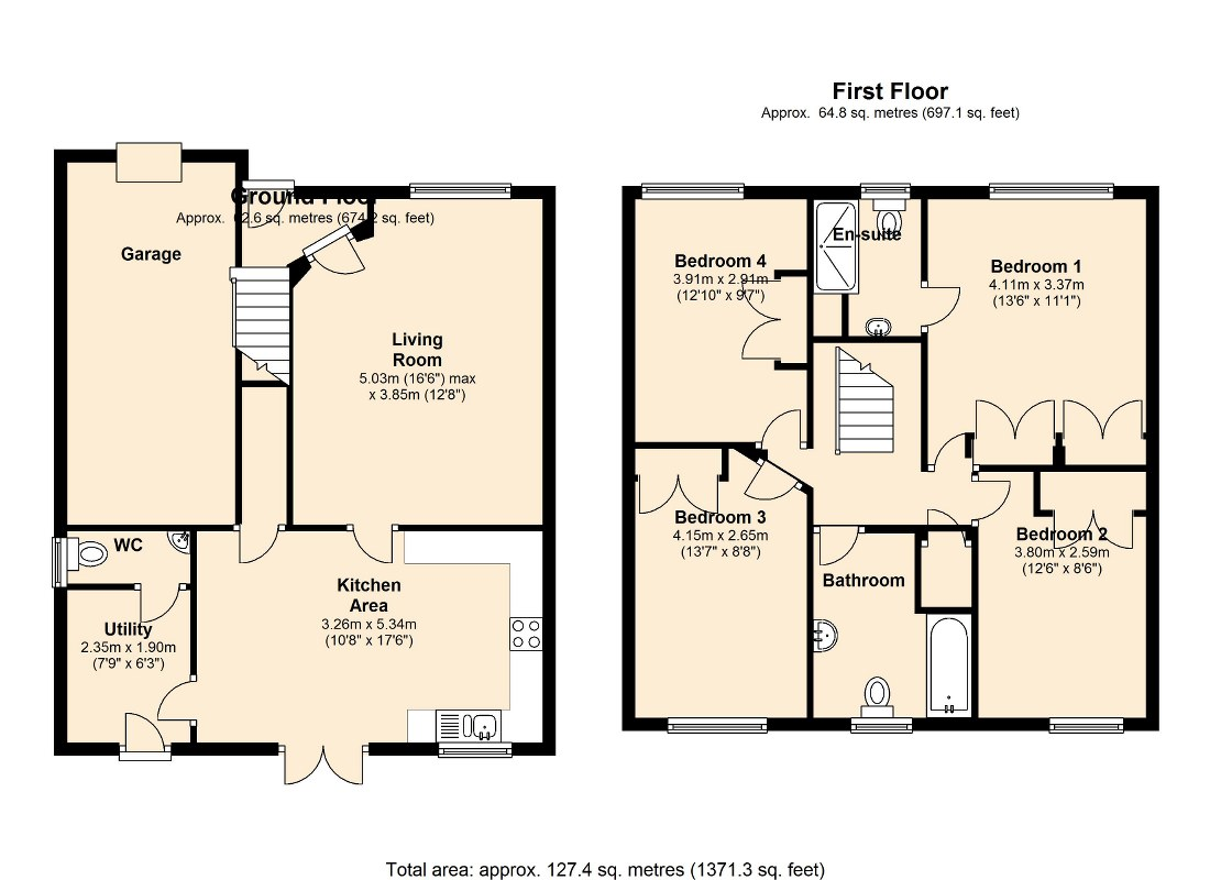 Eton Walk, Wakefield, WF1 floor plan
