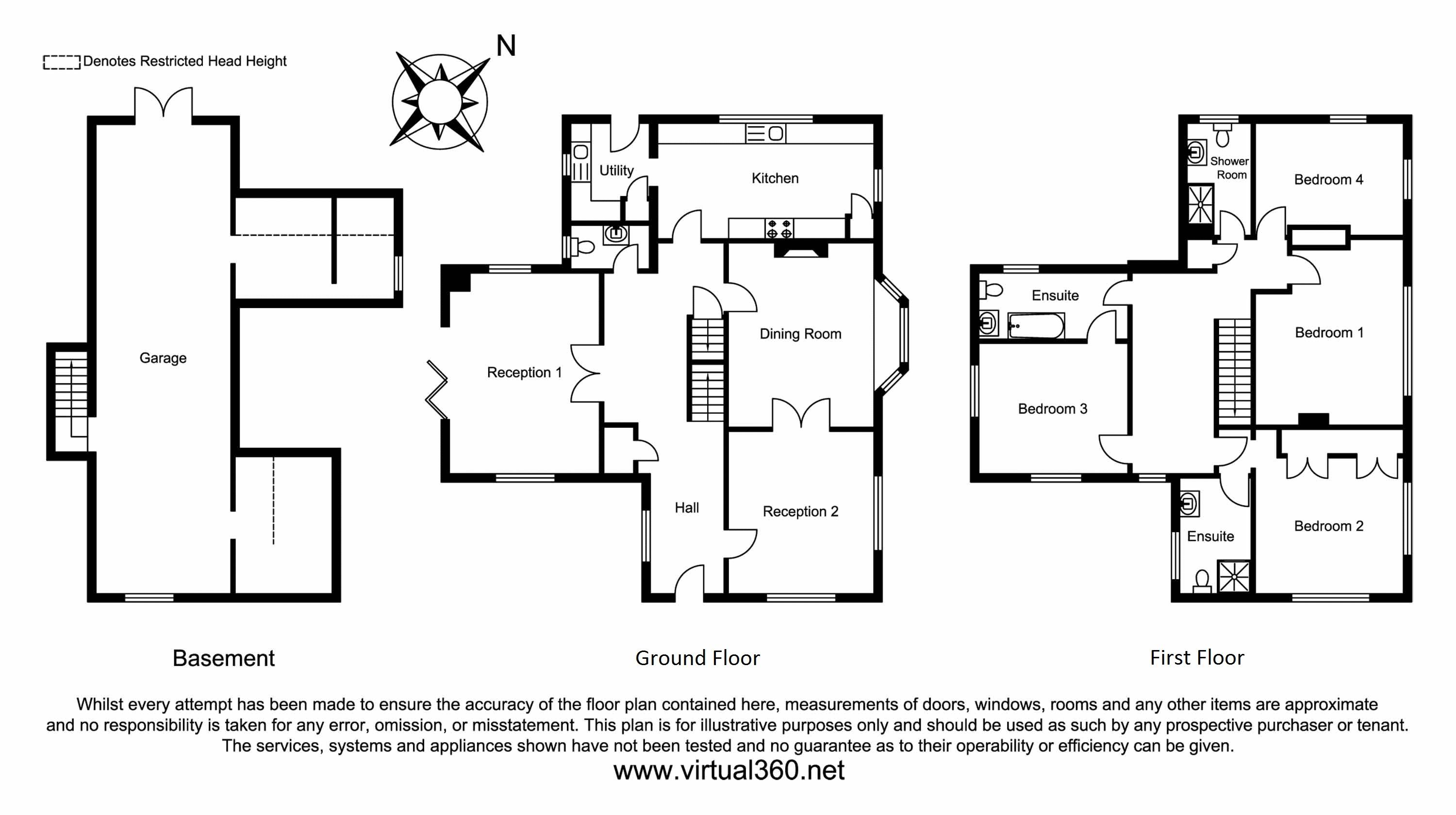 School Lane, Buxton floor plan
