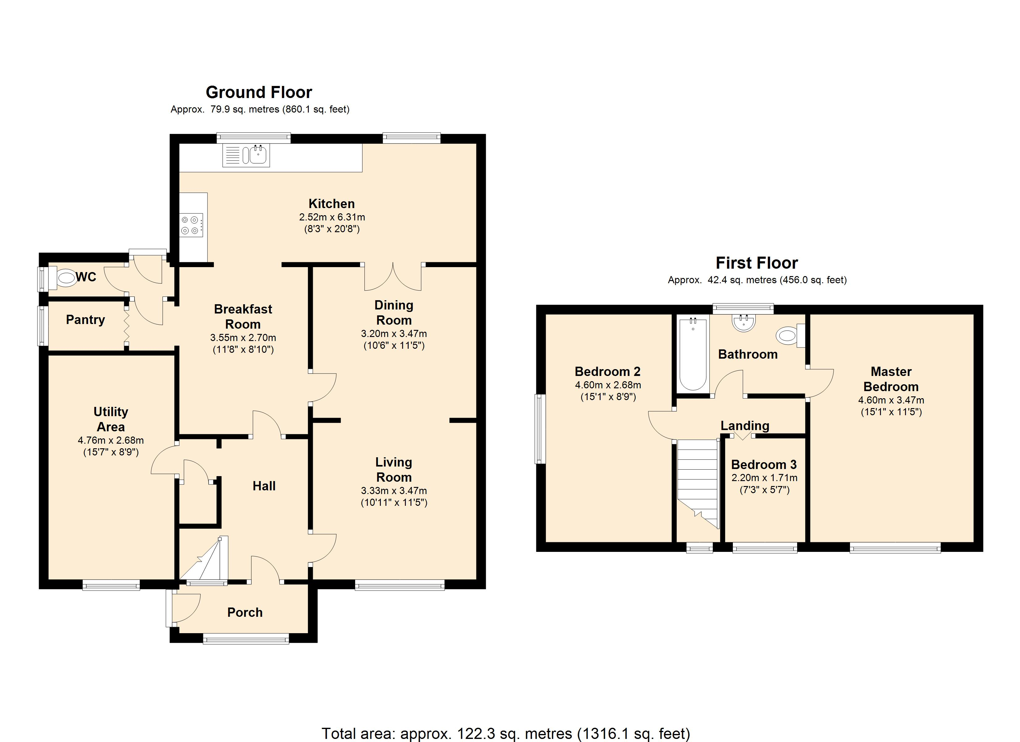 Moorland View, Sheffield, Charnock, S12 floor plan