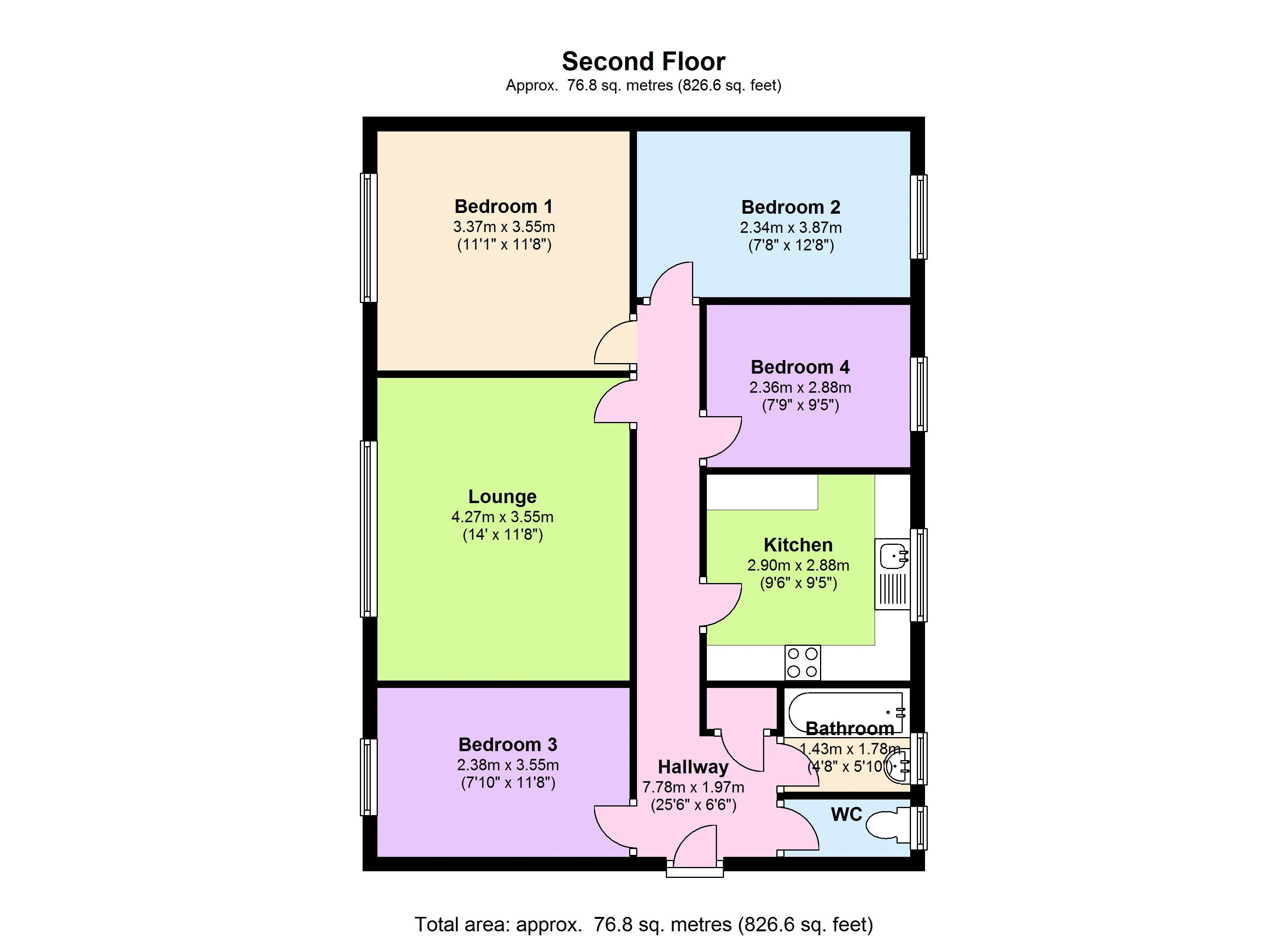 Wandle Way, Earlsfield, London SW18 floor plan