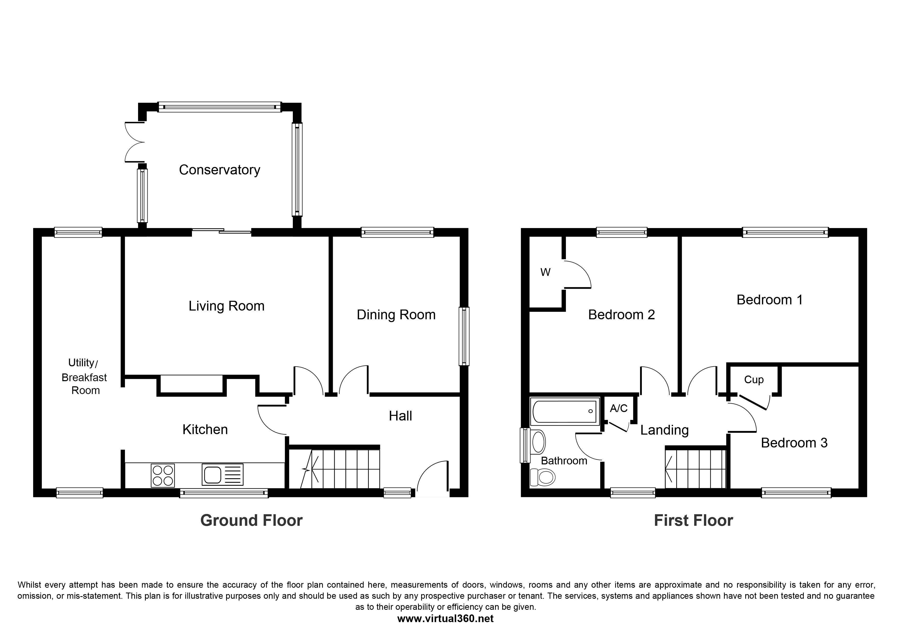 Hucknall, Nottingham floor plan