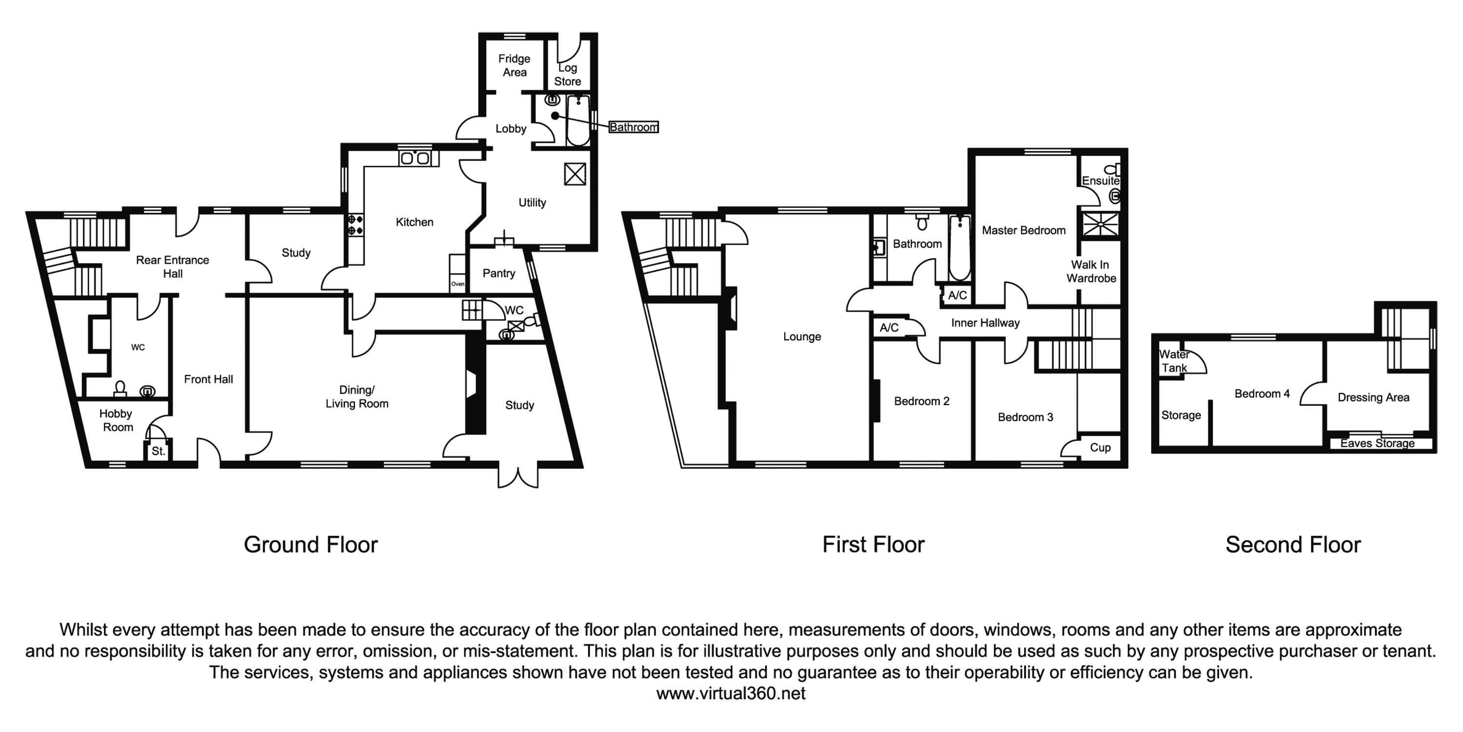 Brislington Hill, Bristol floor plan