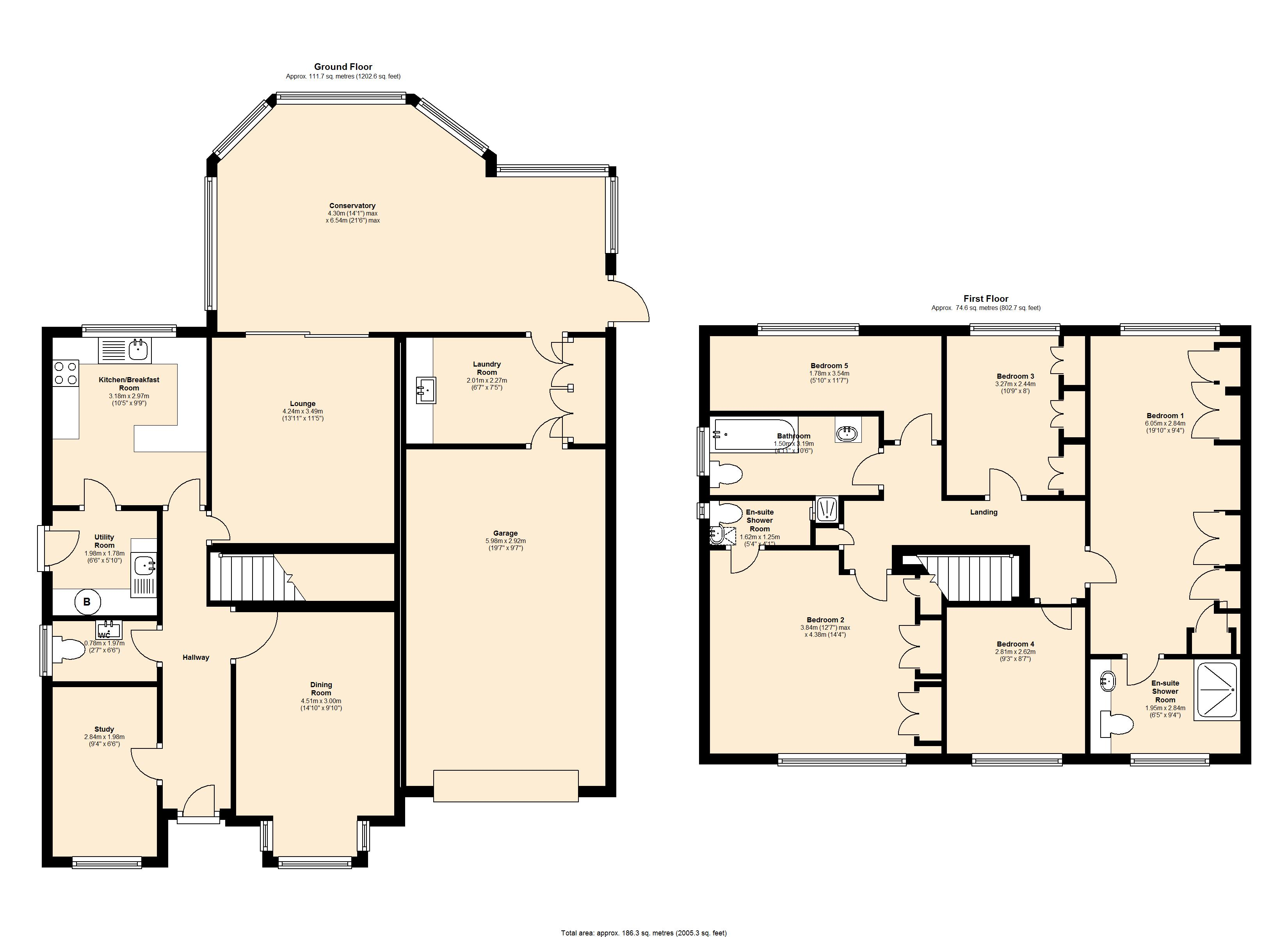 Motts Way, Coleshill, B46 floor plan