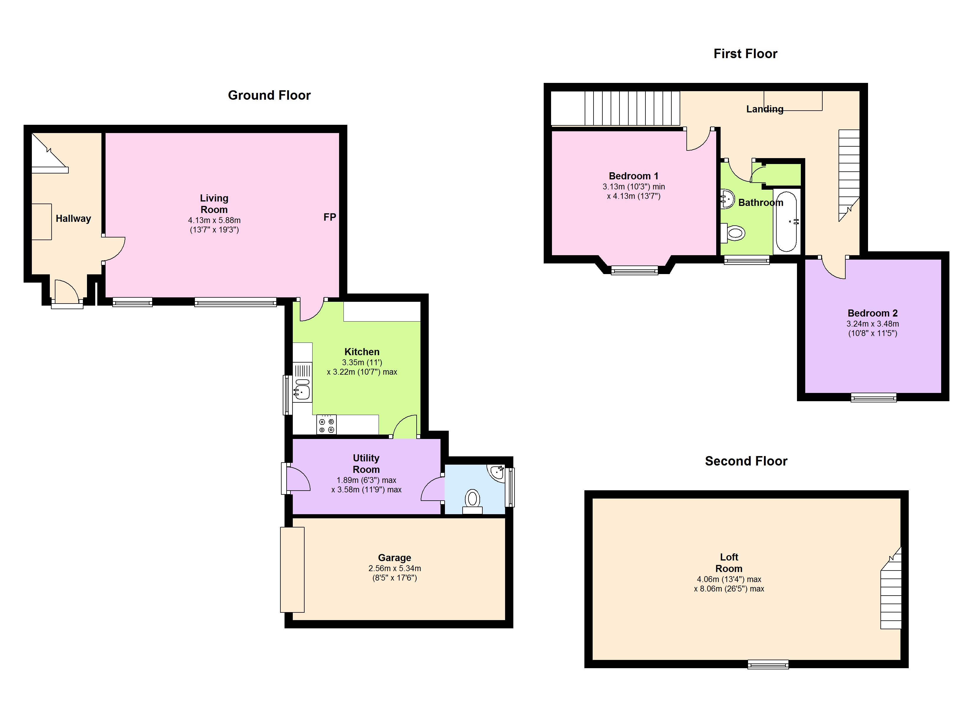 St.Mary Street, Bridgwater, TA5 floor plan