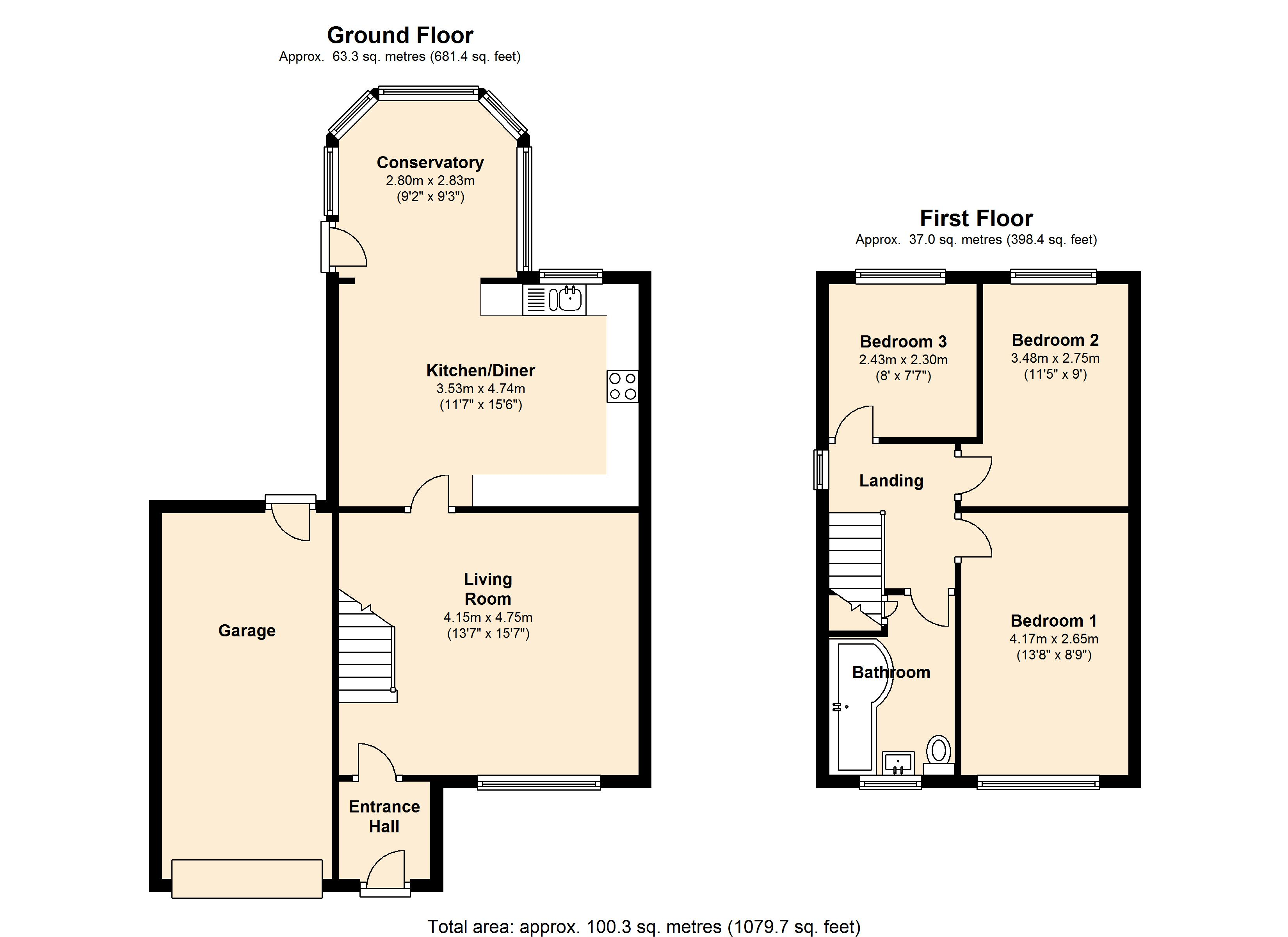 Mortimer Road, Cubley, Penistone, S36 floor plan
