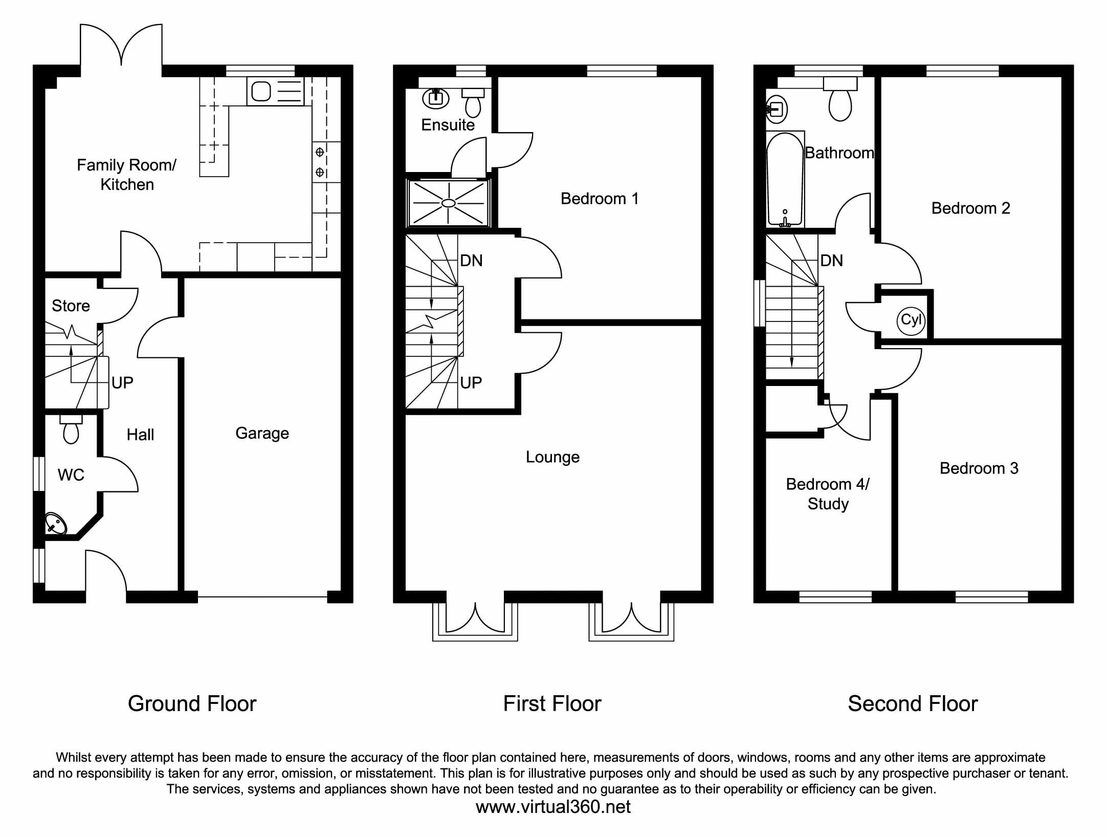 Bluehills Lane, Lower Cumberworth, Huddersfield floor plan