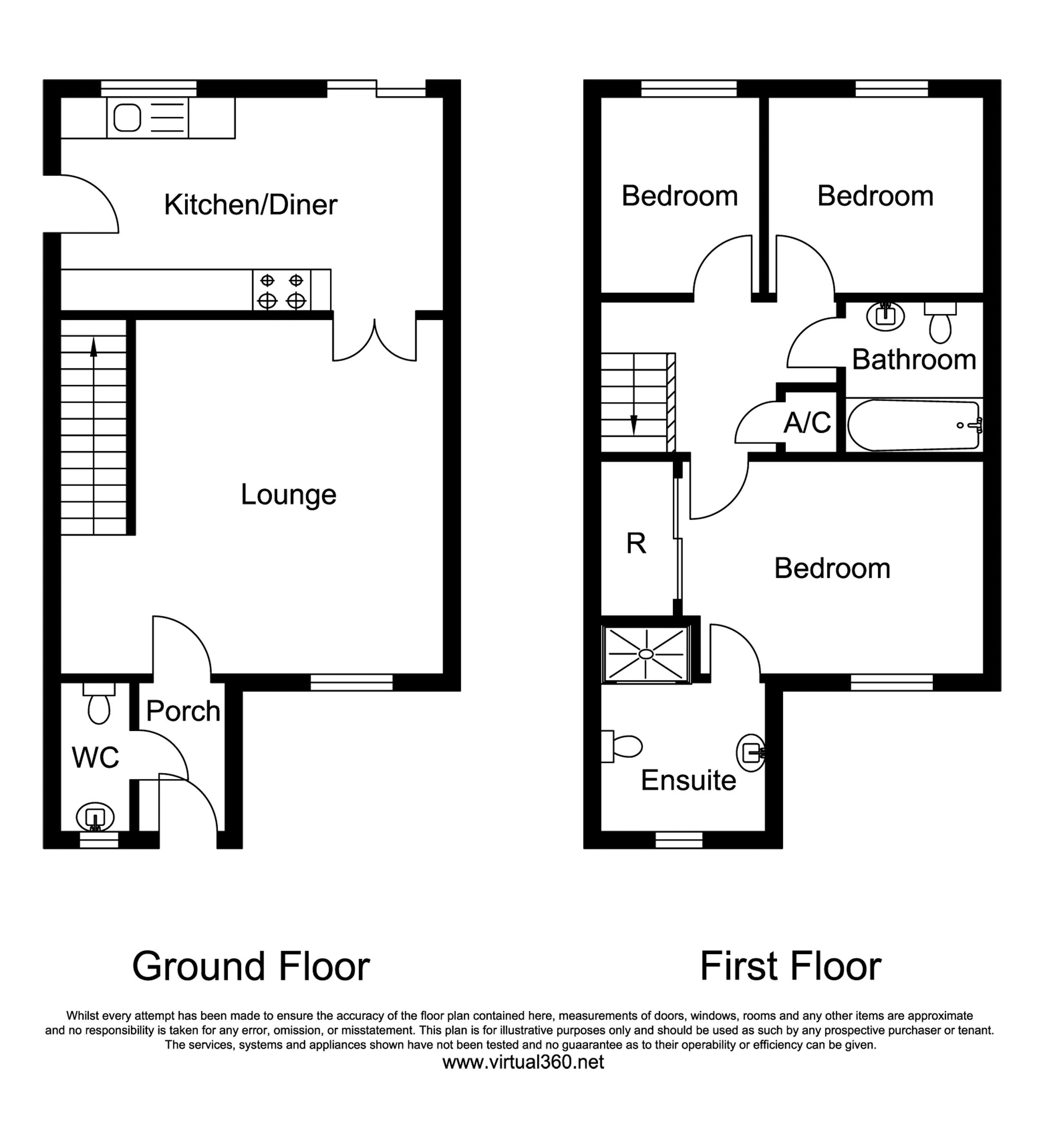 Bromwich Close,Thorpe Astley, Leicester floor plan