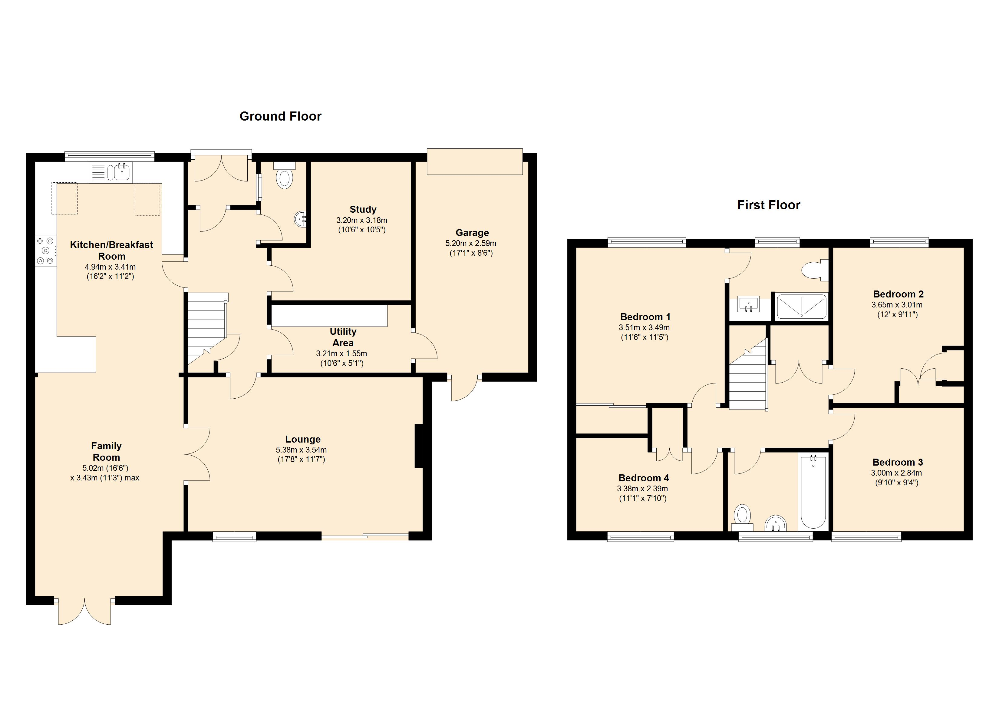 Keniliworth Close, Mountsorrel, LE12 floor plan