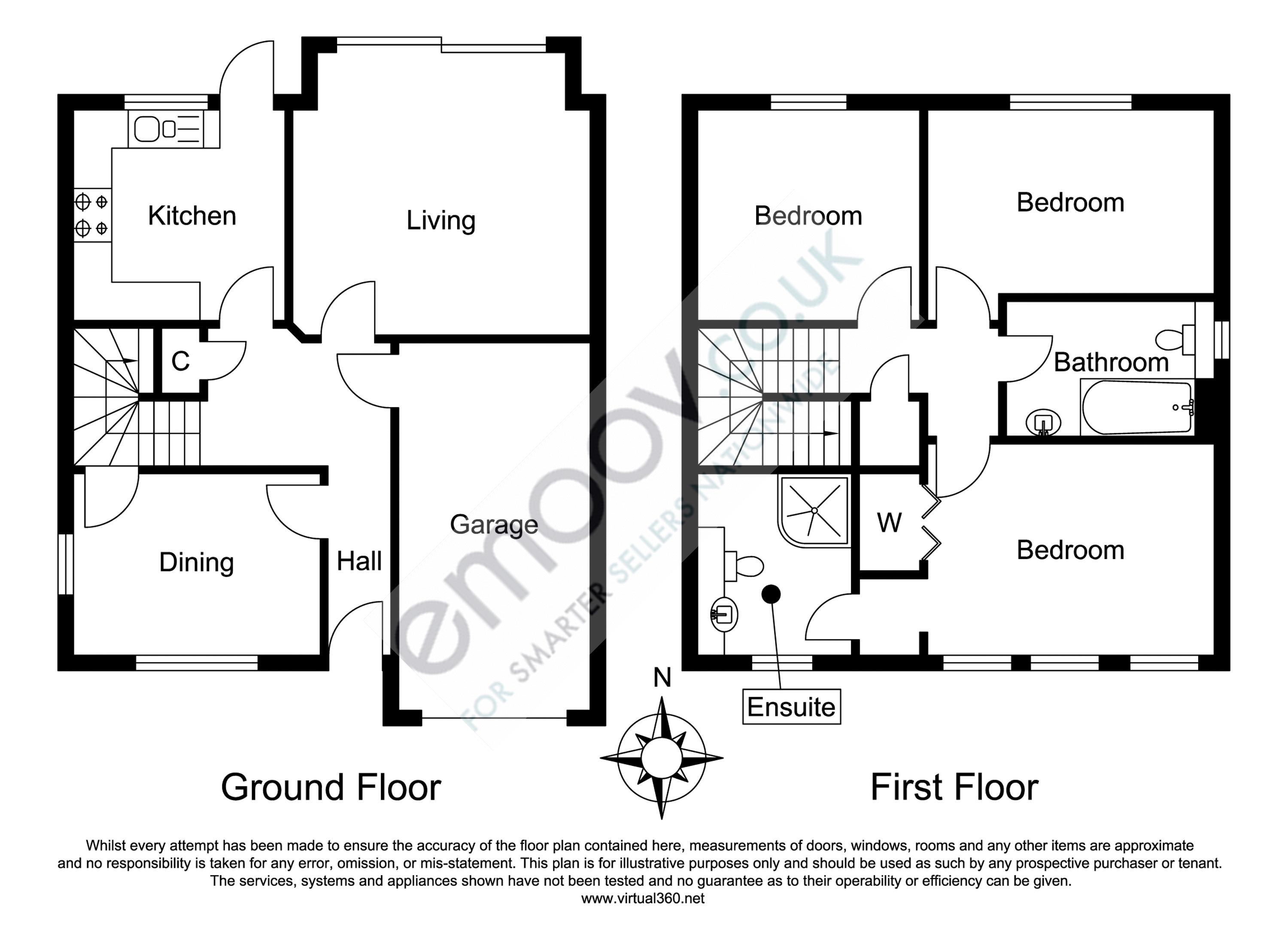 Clayhill Copse, Swindon floor plan