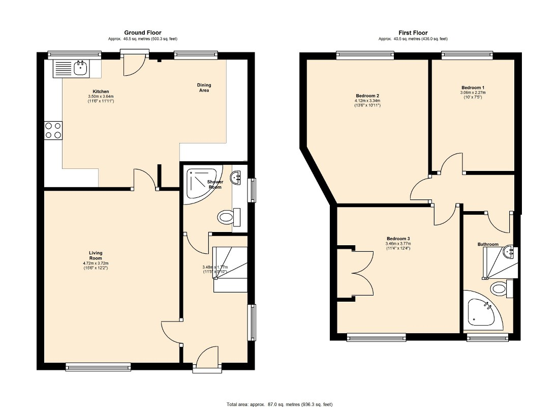 Belle Isle Road, Leeds floor plan