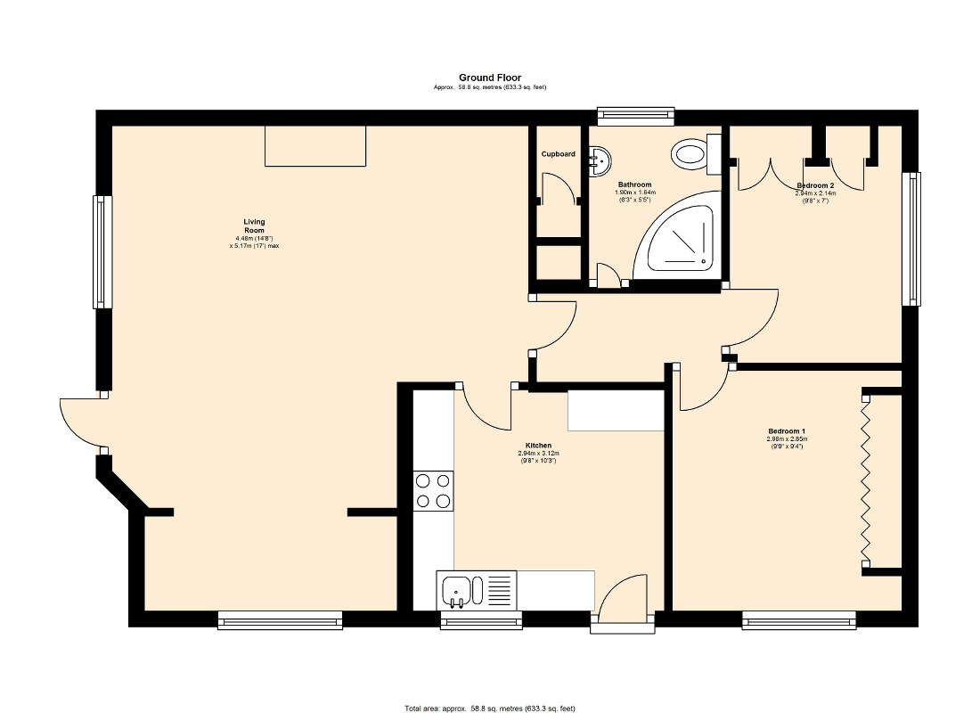 West Park Homes, Darrington, WF8 floor plan