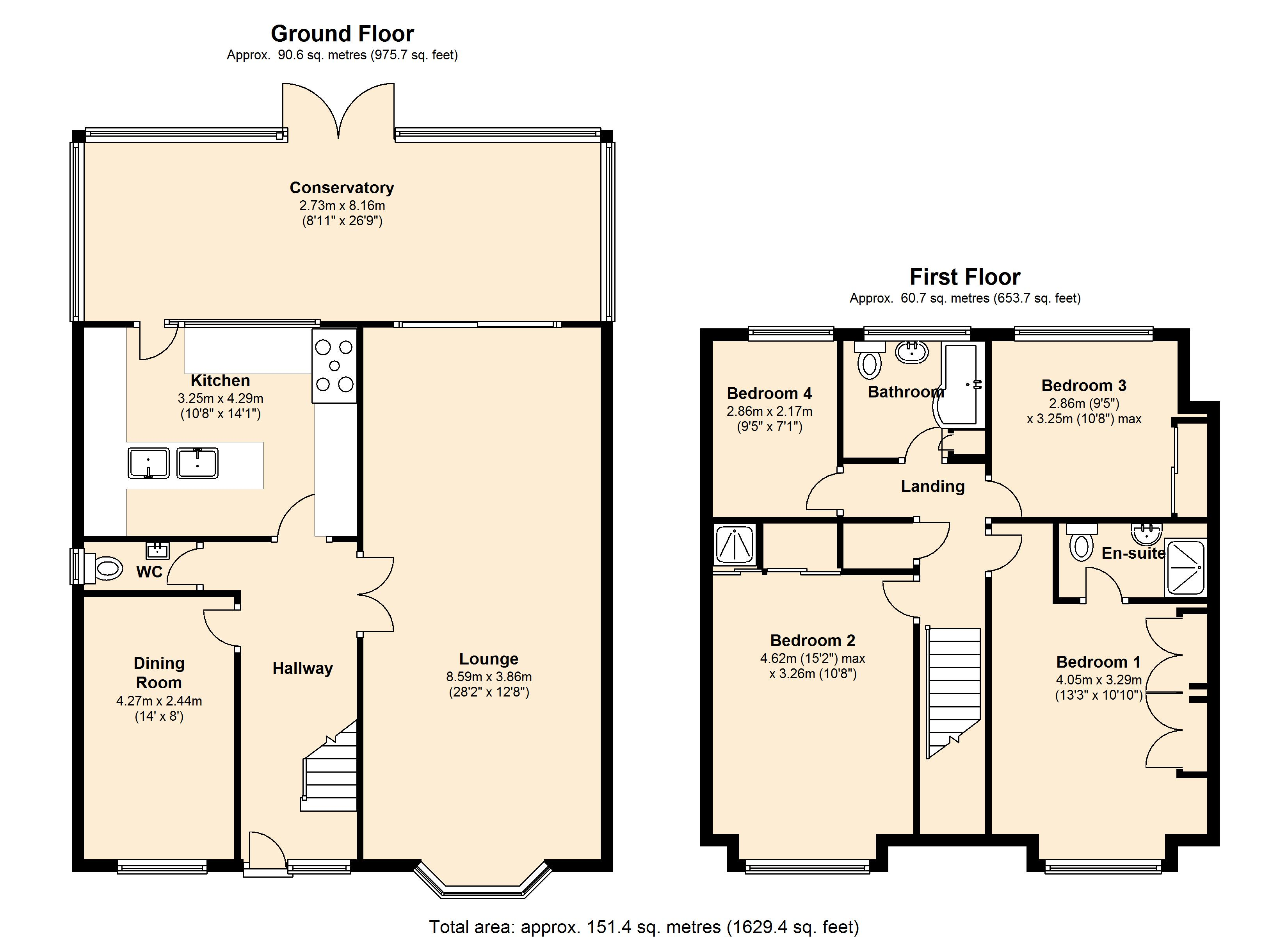 Riverview Gardens, Hullbridge, SS5 floor plan