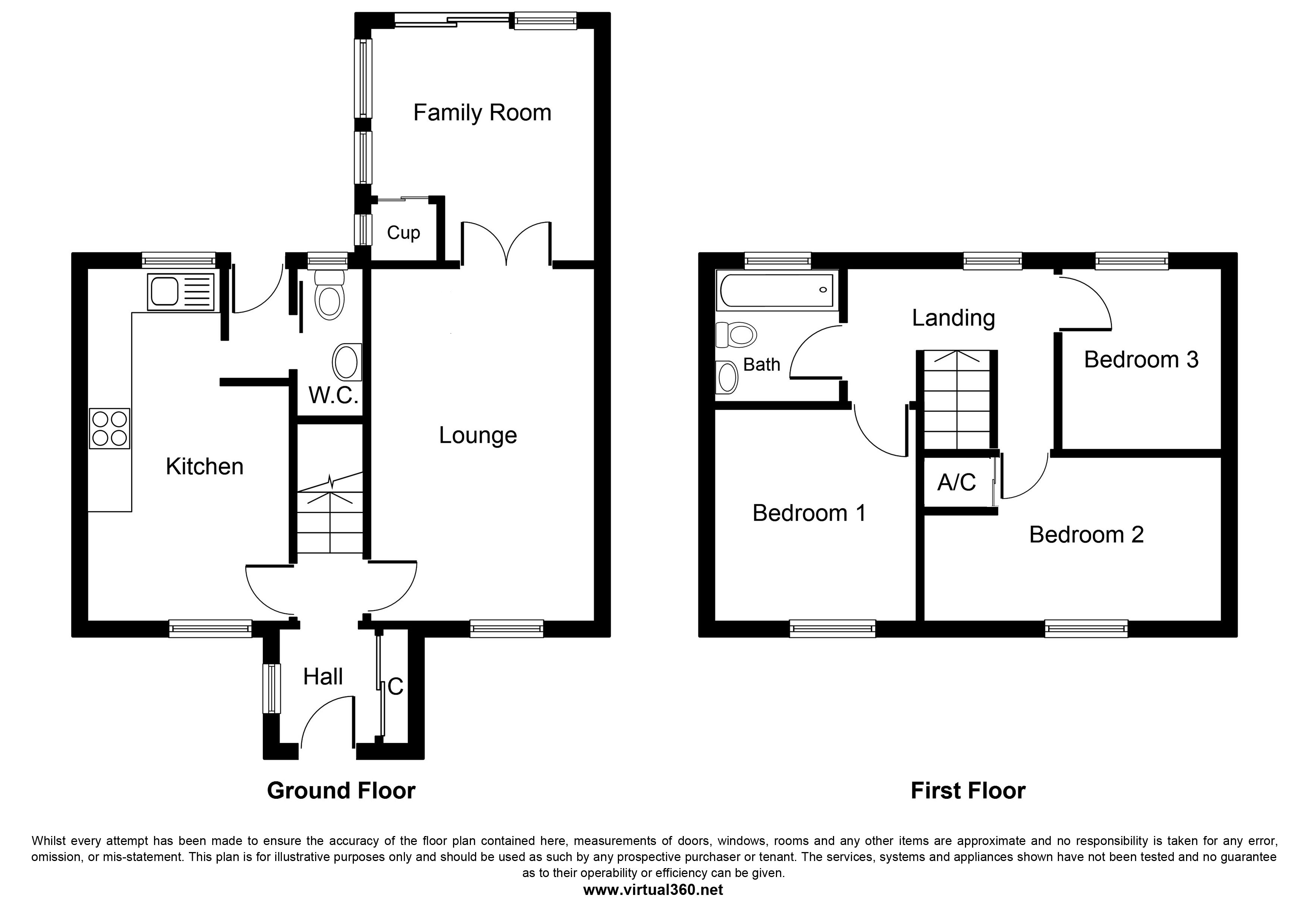 Shelthorpe Avenue, Loughborough floor plan