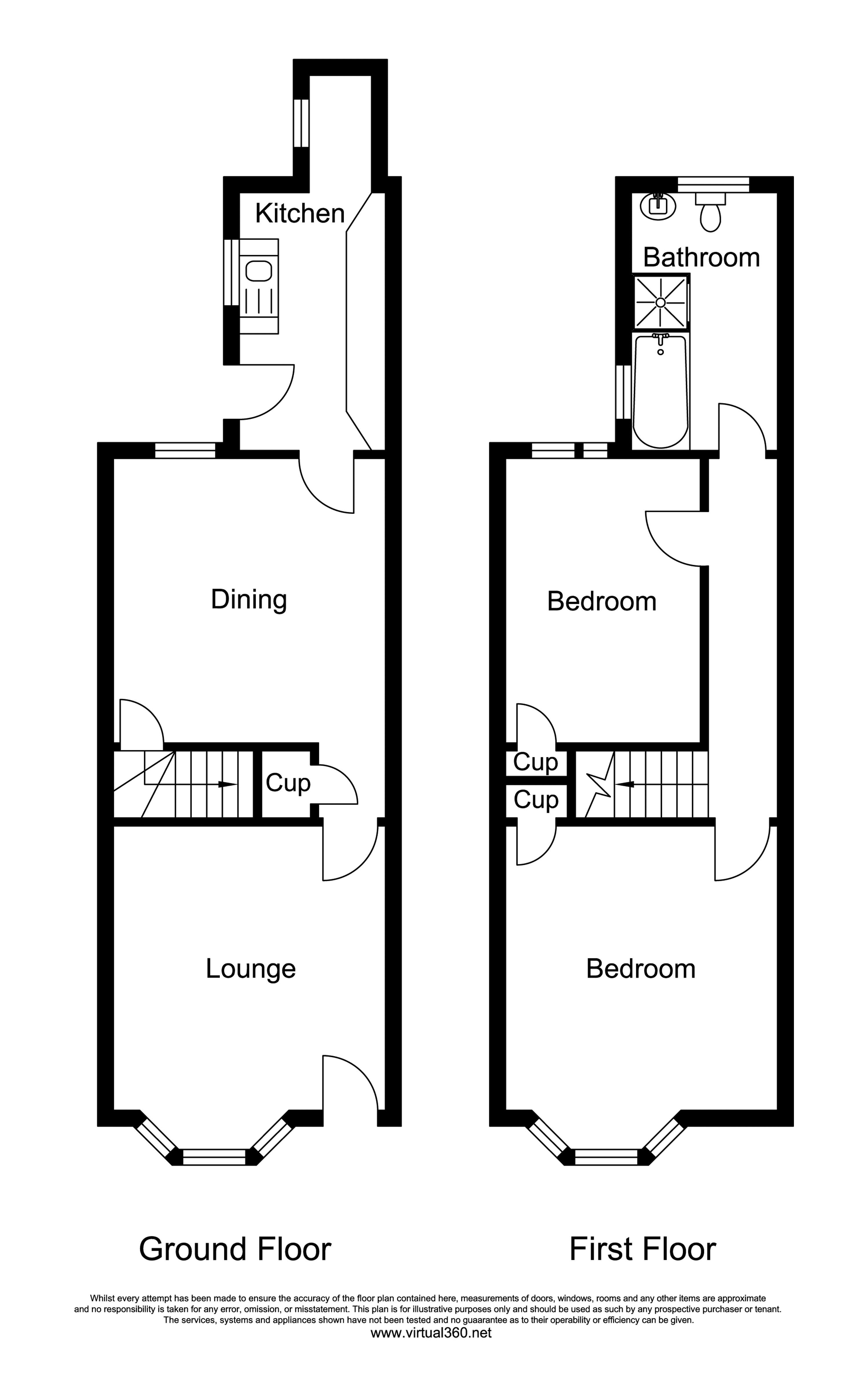 Hopefield Road, Leicester floor plan
