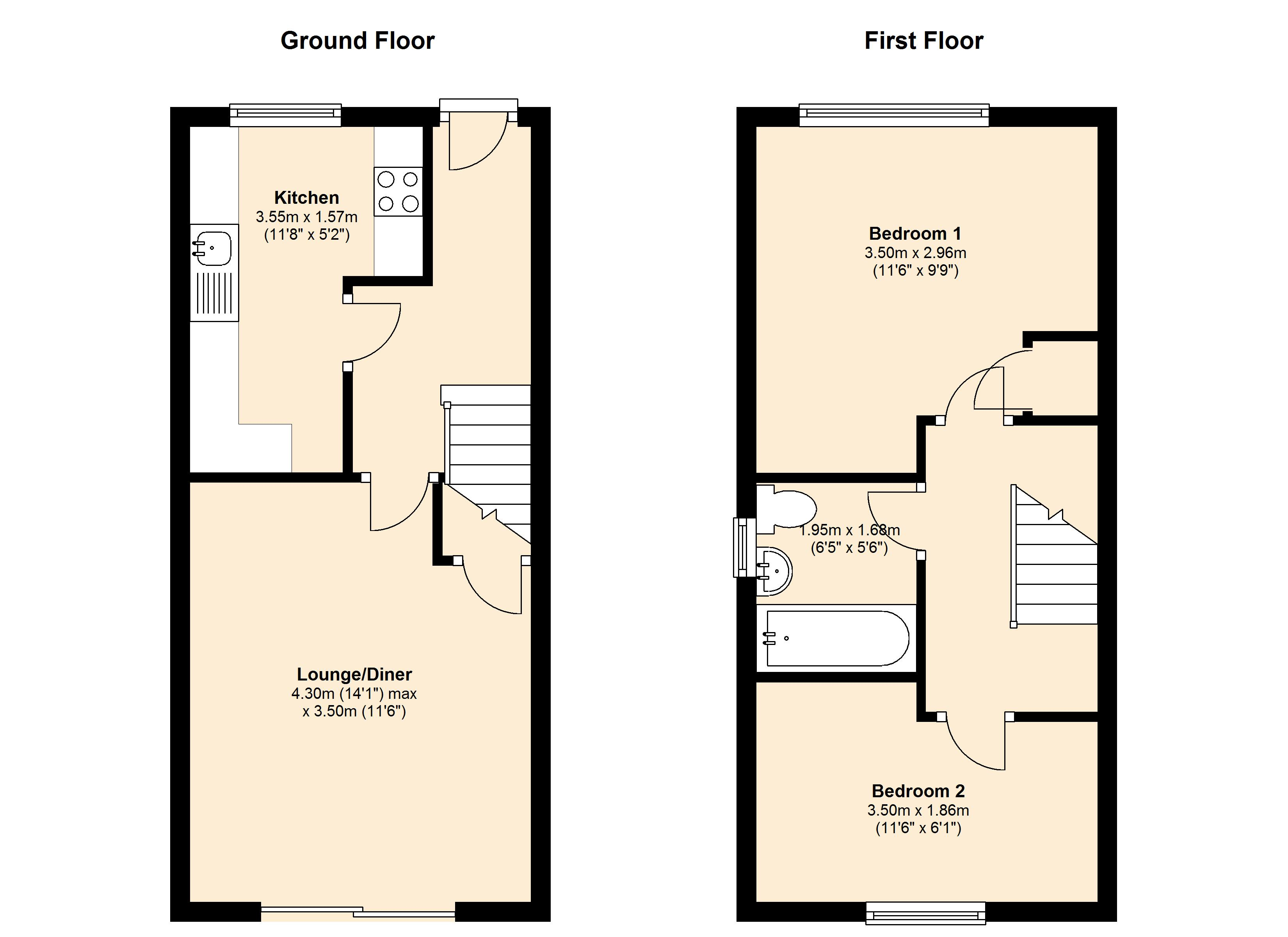 Cherry Hills, Leicestershire, LE3 floor plan