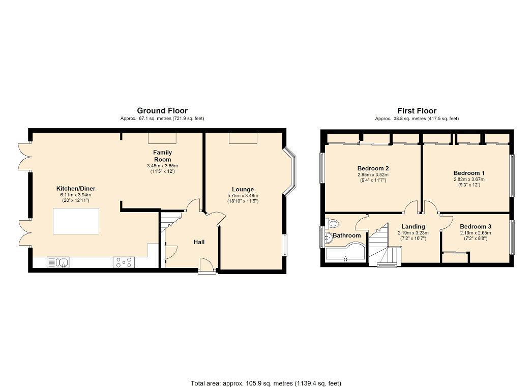 St. Marys Lane, RM14 floor plan