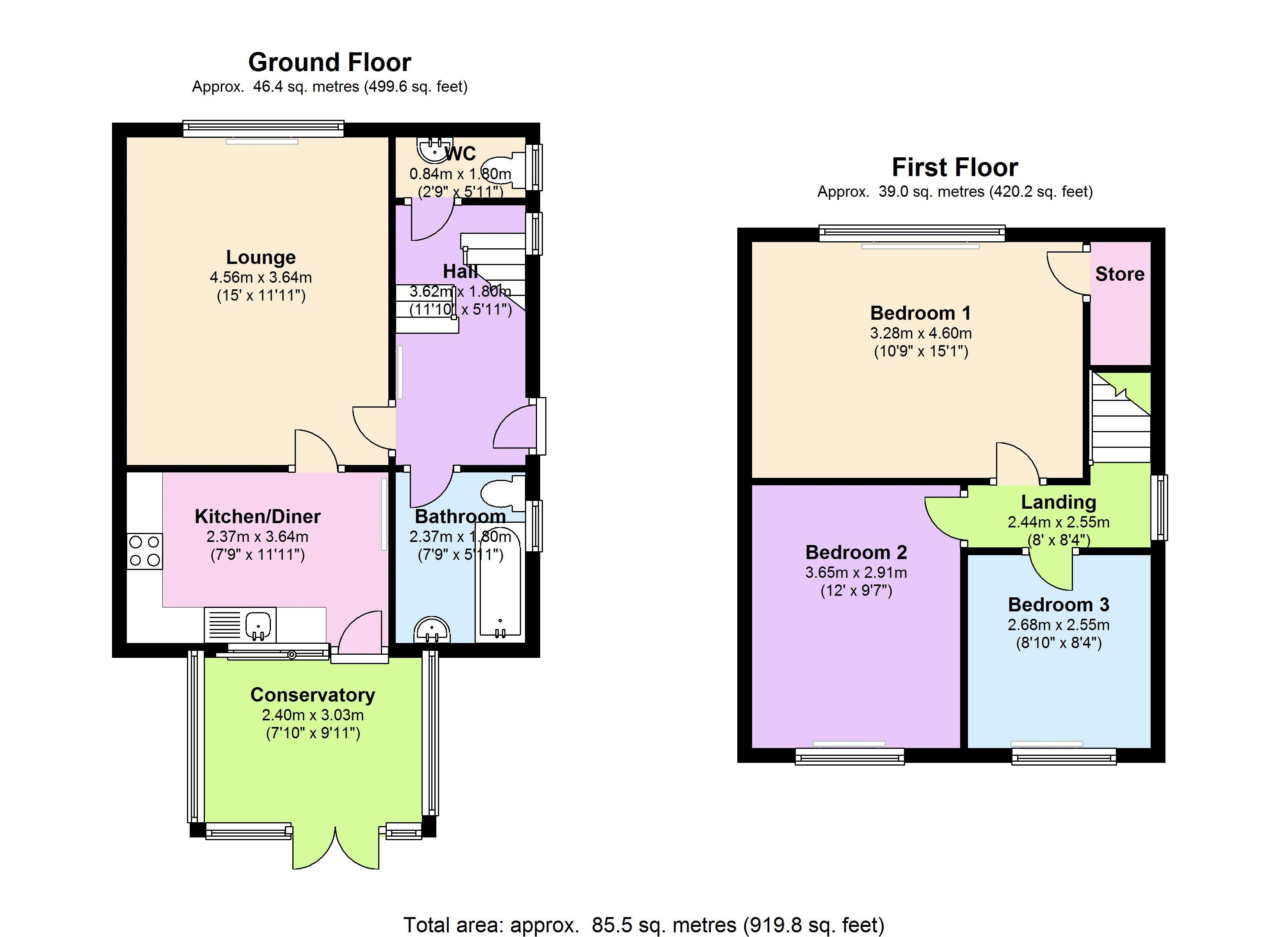 Southend Lane, London, SE6 floor plan